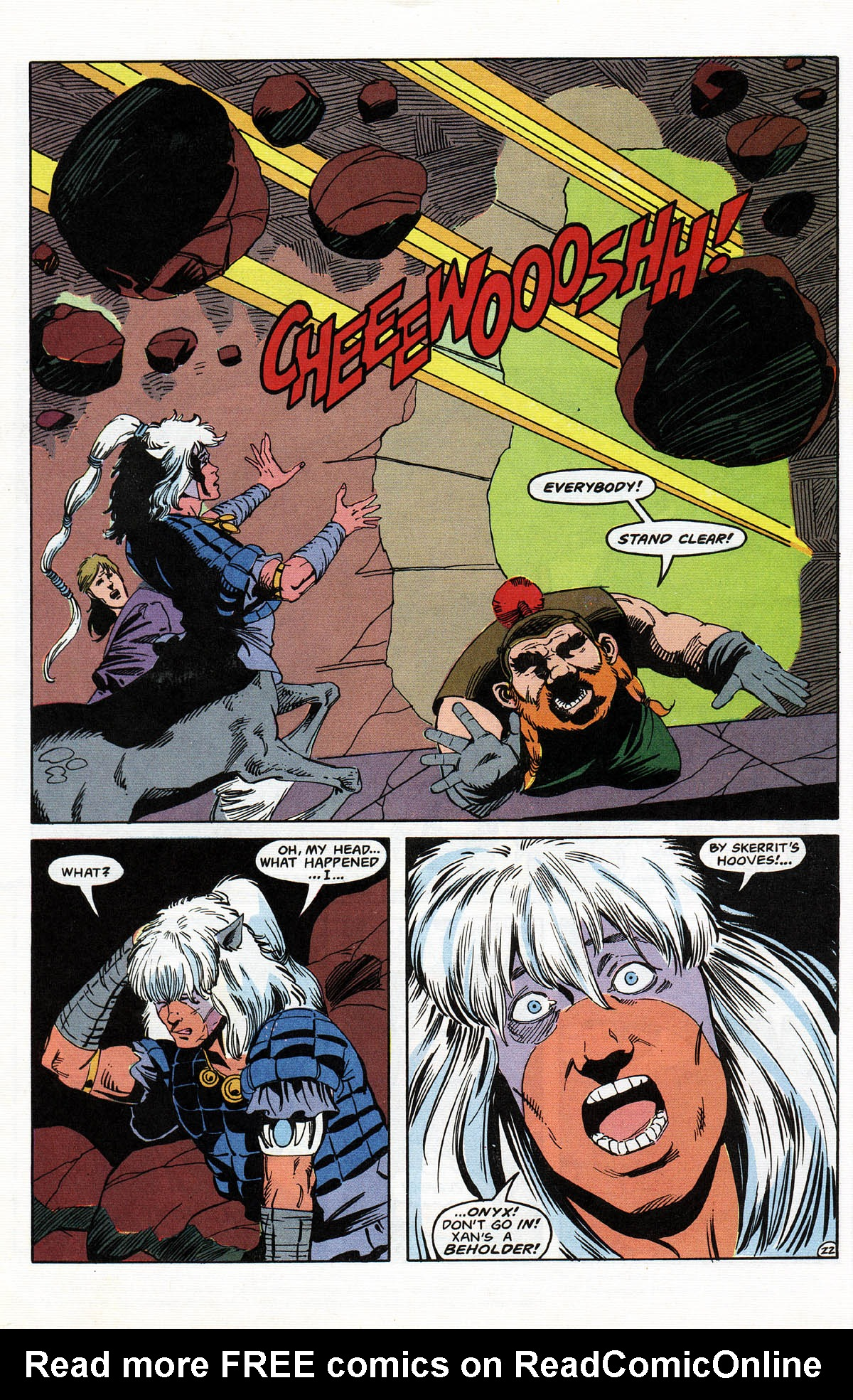 Read online Advanced Dungeons & Dragons comic -  Issue #11 - 27