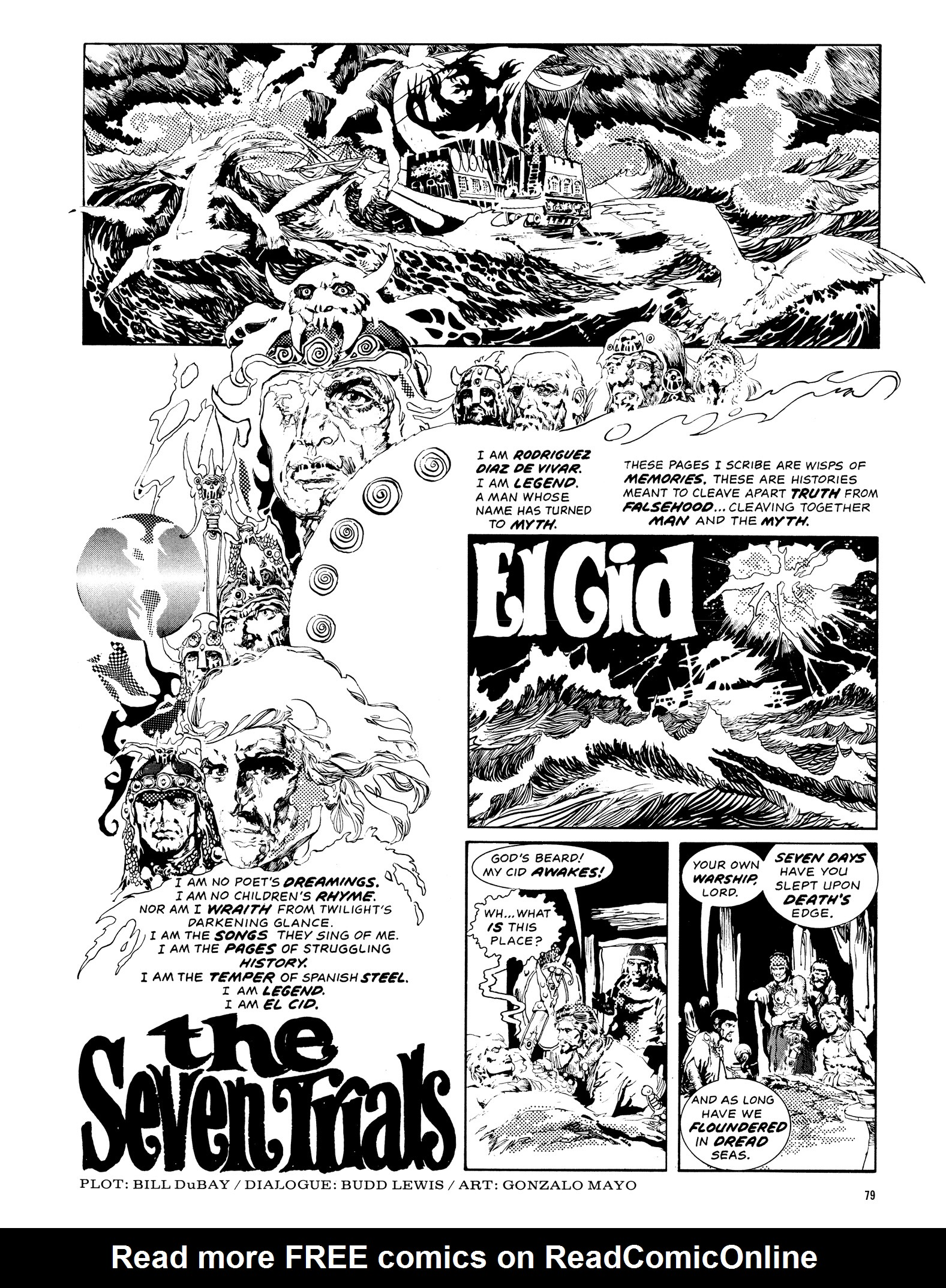 Read online Eerie Archives comic -  Issue # TPB 14 - 80