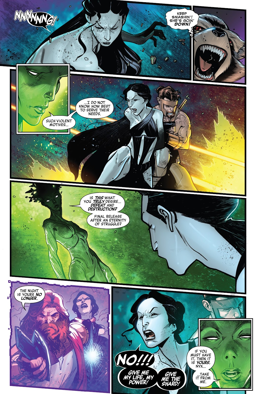 Read online Avengers No Road Home comic -  Issue #9 - 14