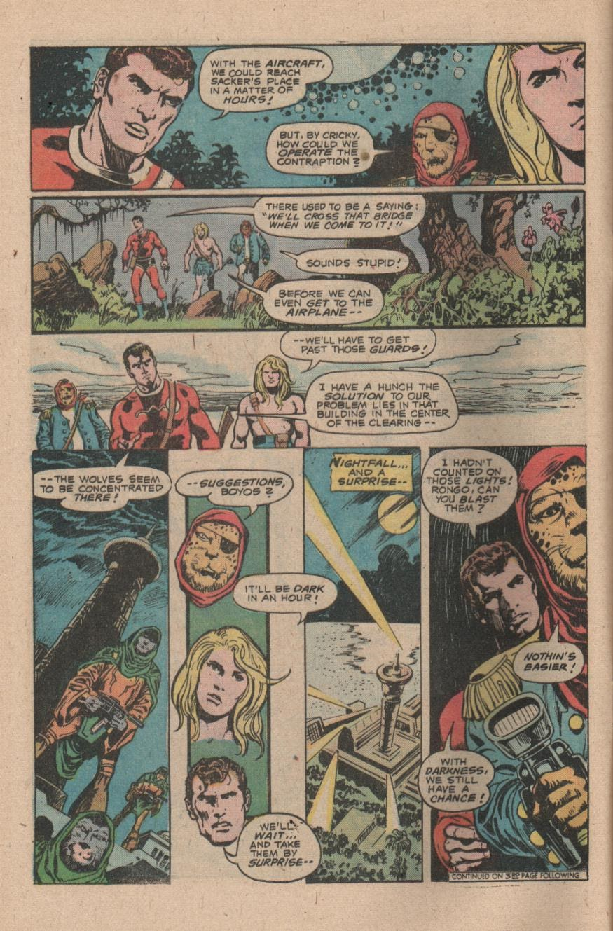 Kamandi, The Last Boy On Earth issue 47 - Page 12