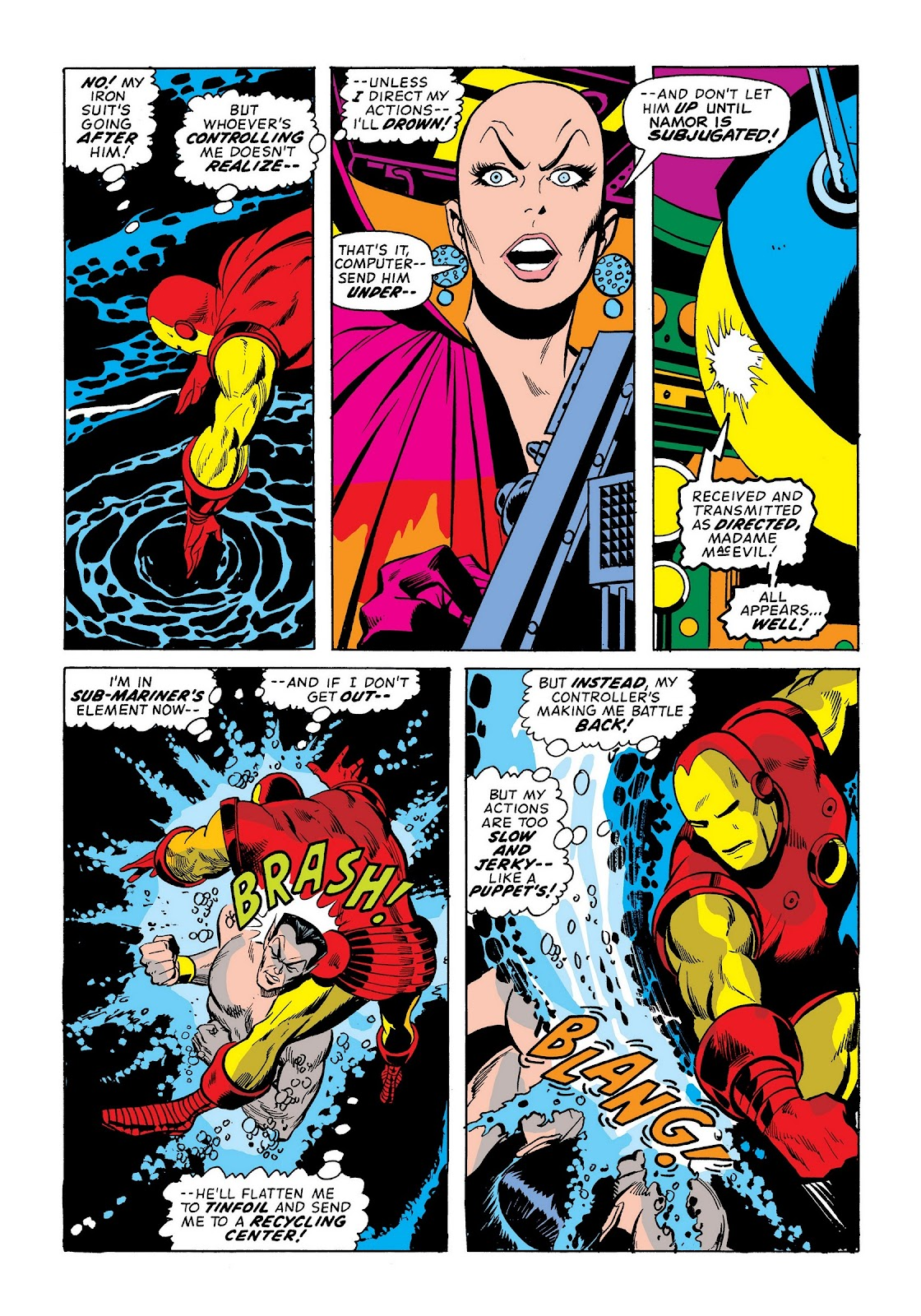 Read online Marvel Masterworks: The Invincible Iron Man comic -  Issue # TPB 9 (Part 1) - 18