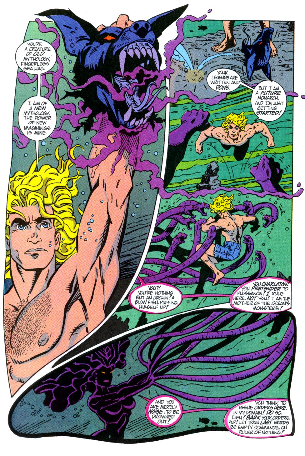 Read online Aquaman: Time and Tide comic -  Issue #3 - 19