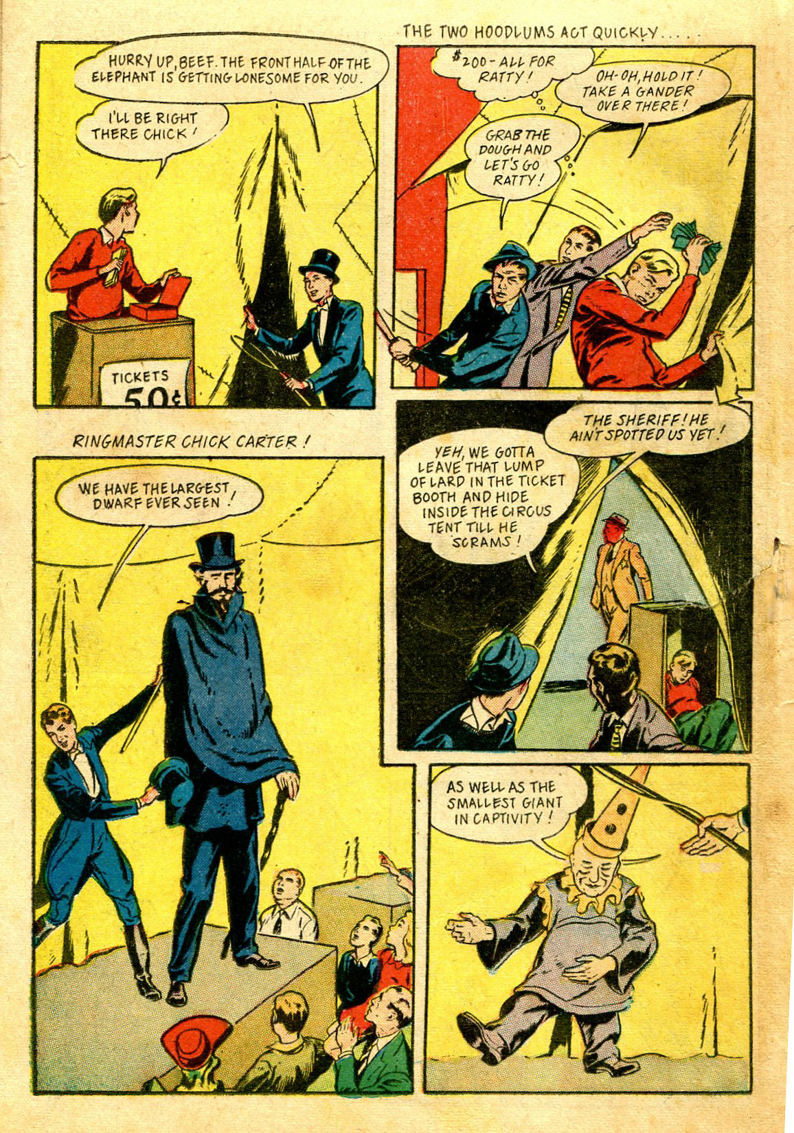 Read online Shadow Comics comic -  Issue #43 - 38
