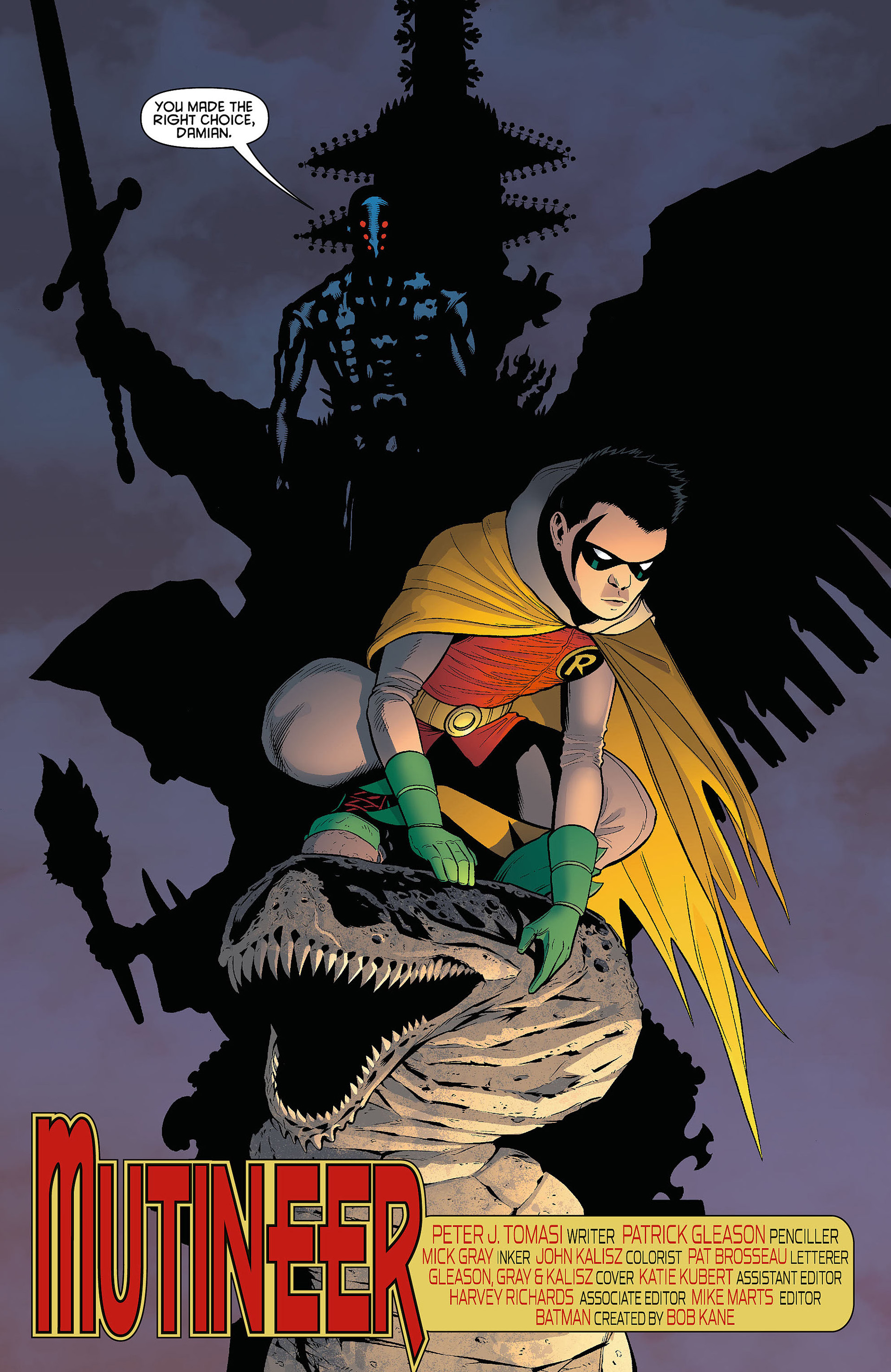 Read online Batman and Robin (2011) comic -  Issue #5 - 5