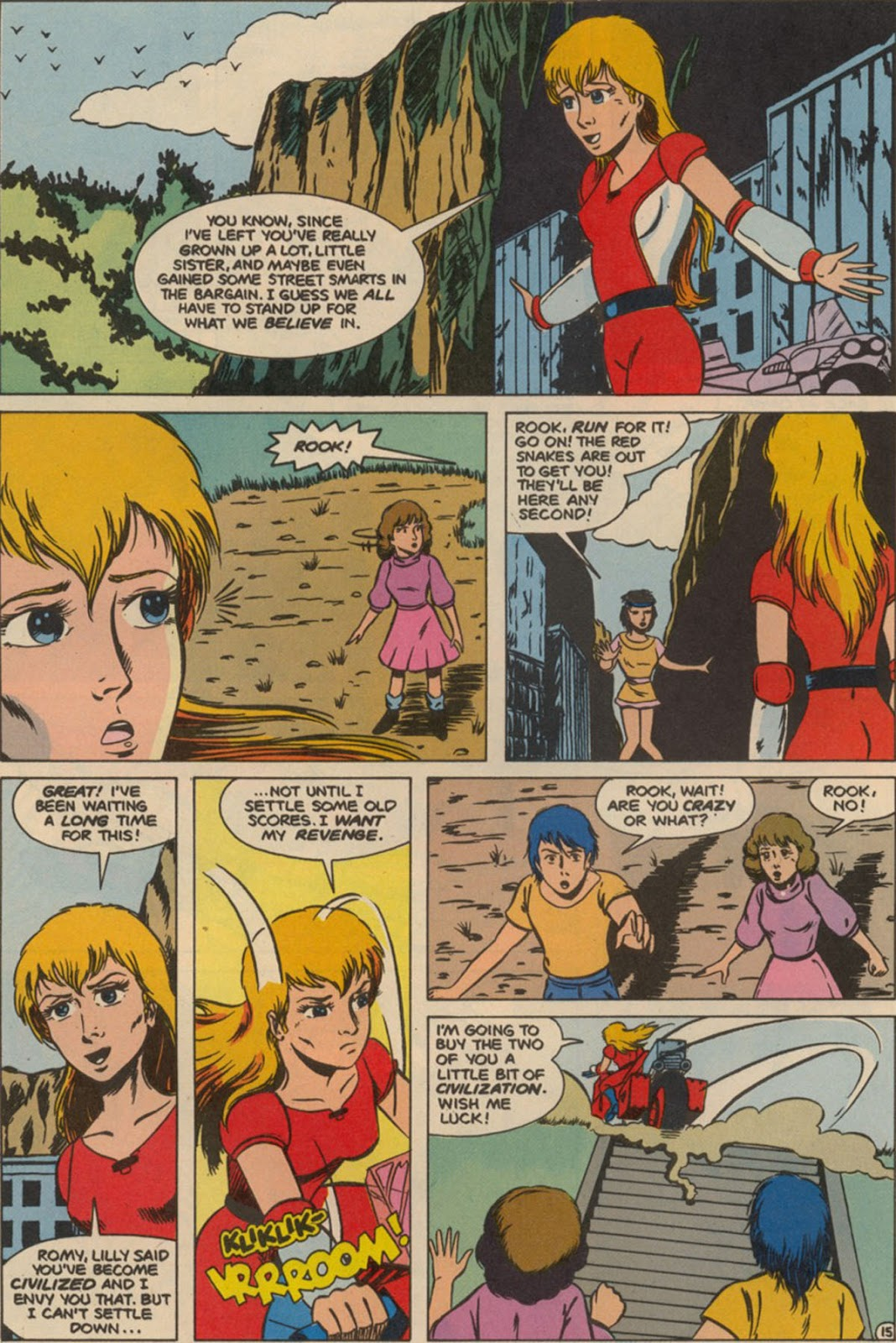 Robotech The New Generation issue 6 - Page 19