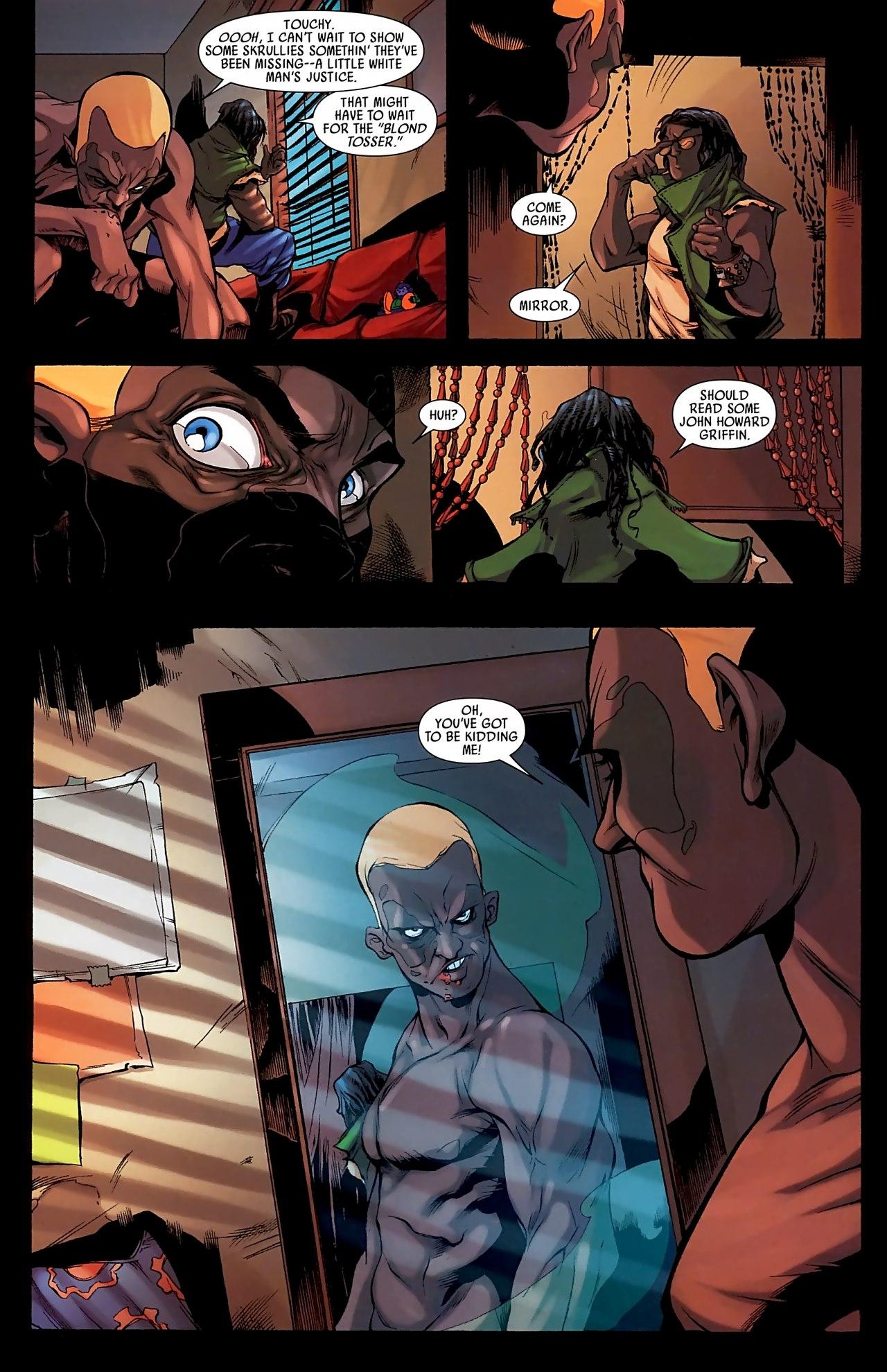 Read online Skrull Kill Krew (2009) comic -  Issue #3 - 10