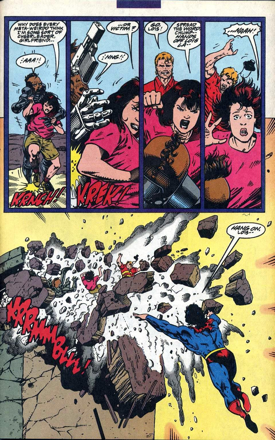 Read online Adventures of Superman (1987) comic -  Issue #515 - 21