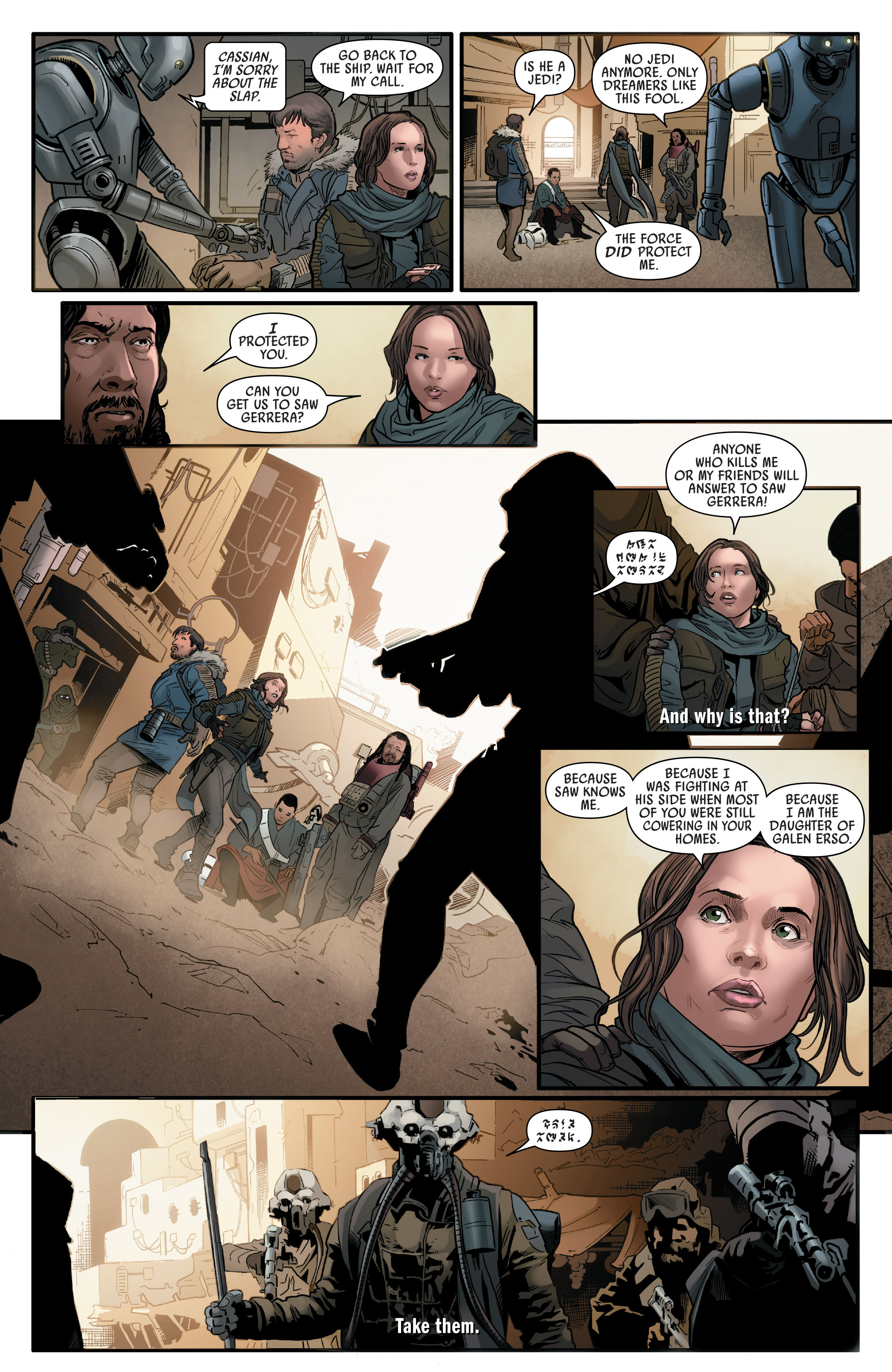 Read online Star Wars: Rogue One Adaptation comic -  Issue #2 - 14