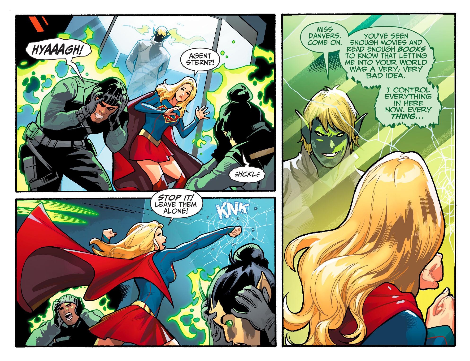 Read online Adventures of Supergirl comic -  Issue #6 - 9