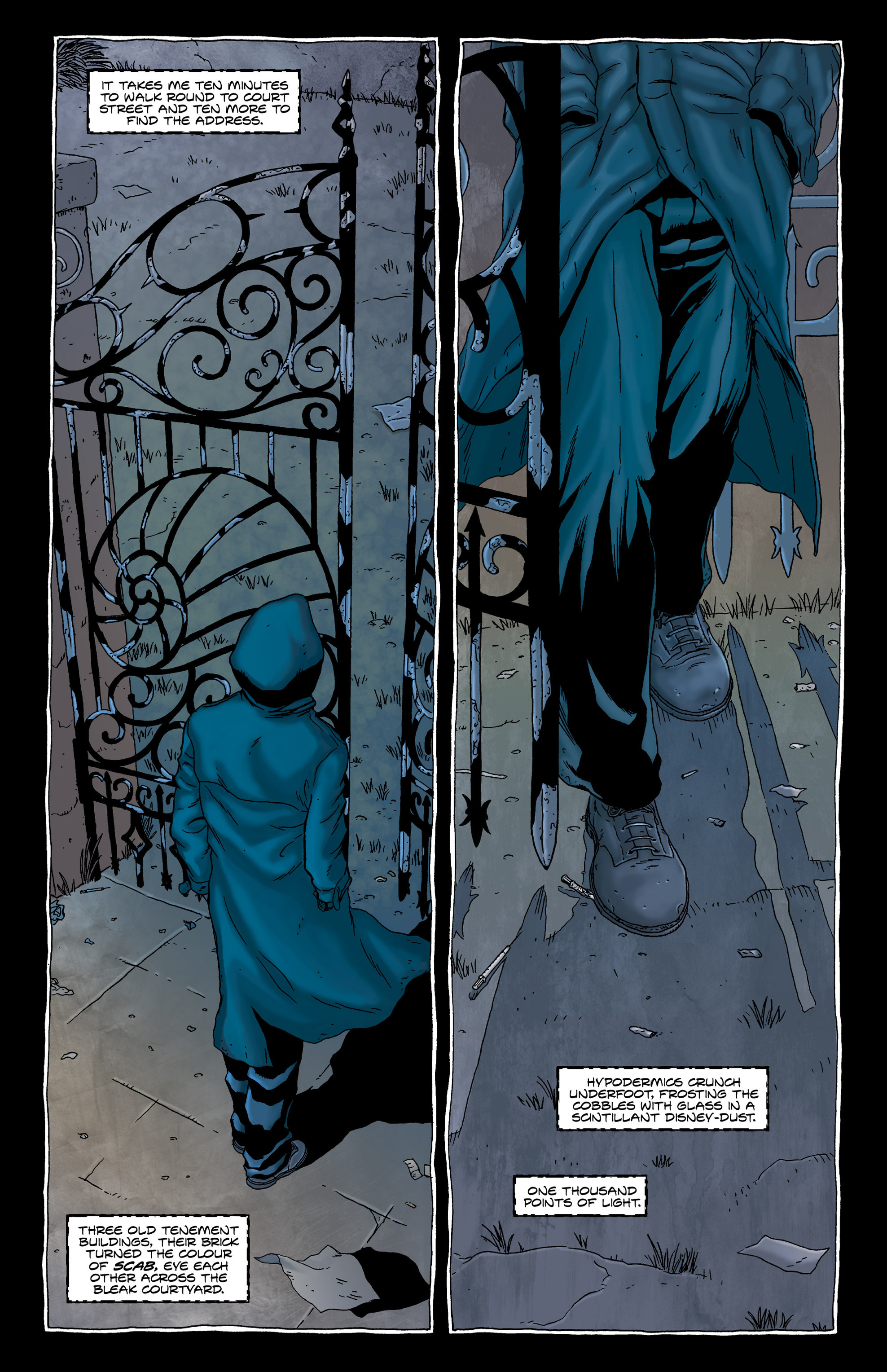 Read online Alan Moore's The Courtyard comic -  Issue # TPB - 32