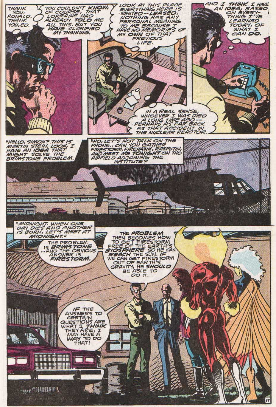 Firestorm, the Nuclear Man Issue #100 #36 - English 18