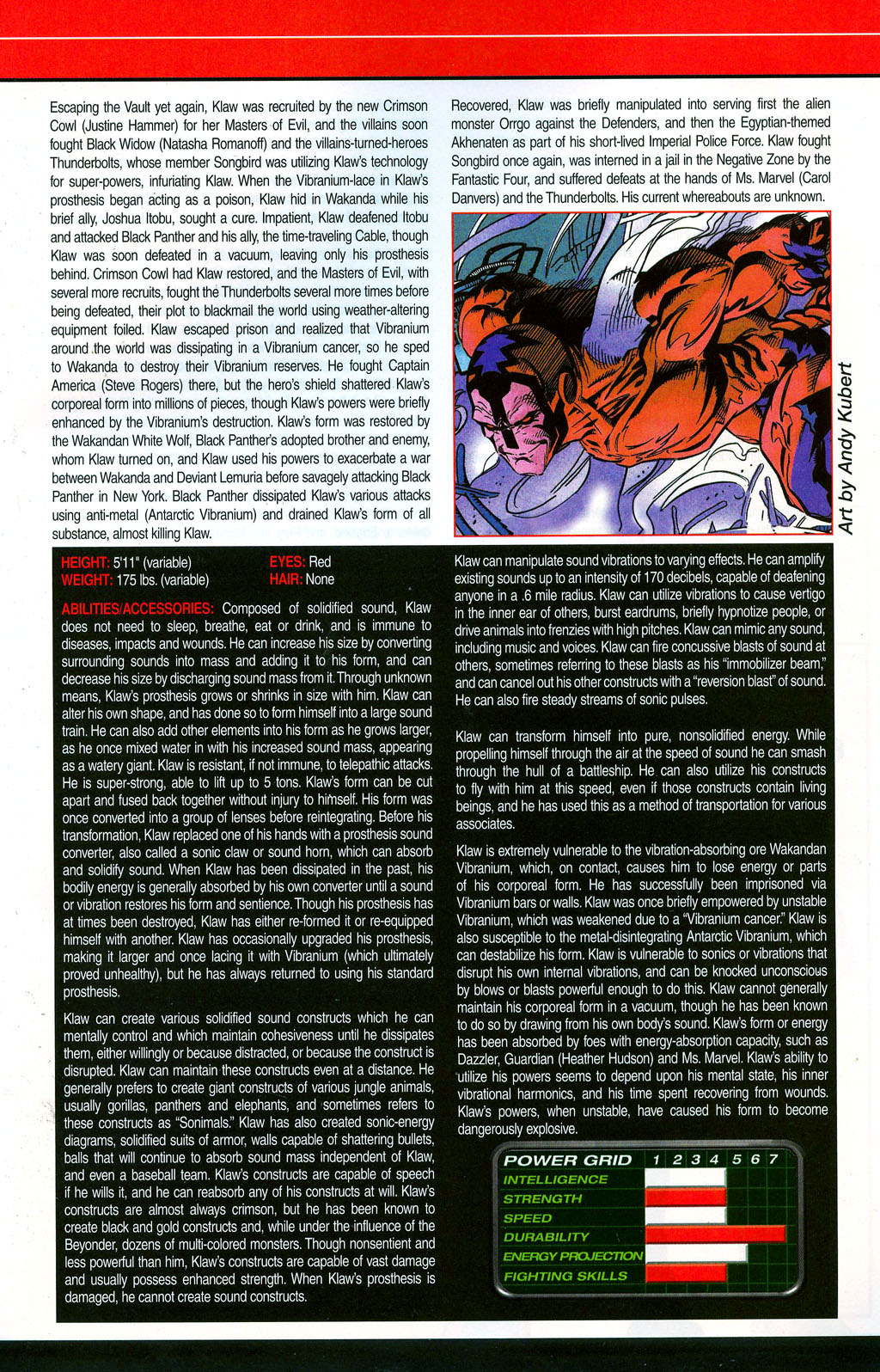 Read online All-New Official Handbook of the Marvel Universe A to Z: Update comic -  Issue #3 - 35