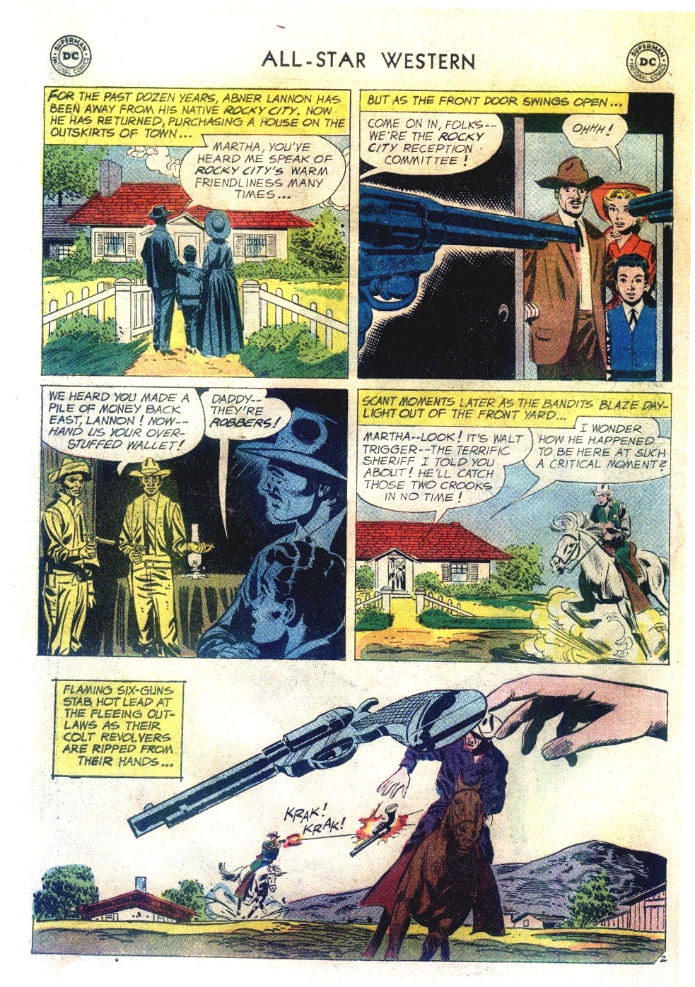 Read online All-Star Western (1951) comic -  Issue #111 - 26