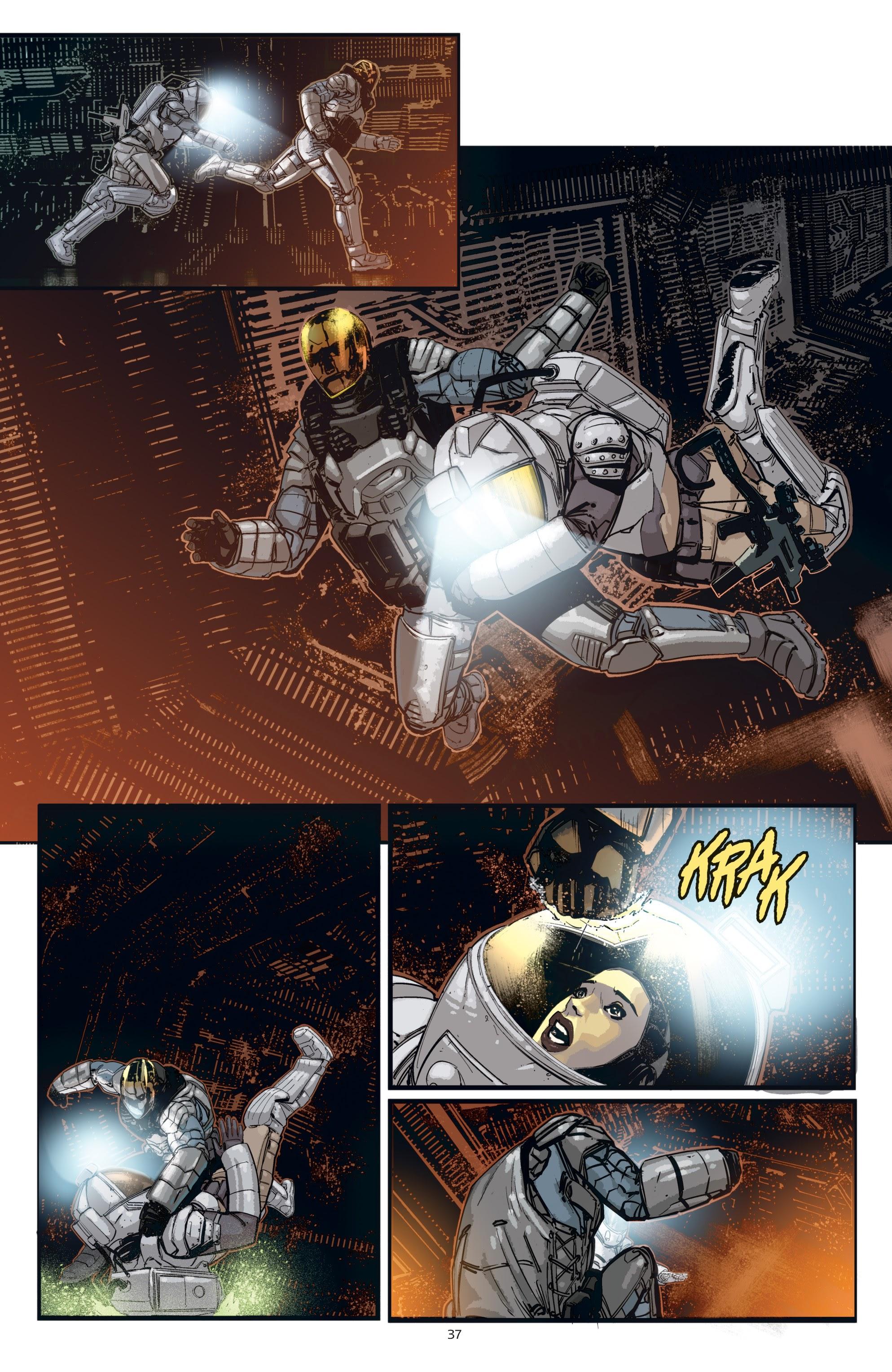 Read online Aliens: Resistance comic -  Issue # _TPB - 37
