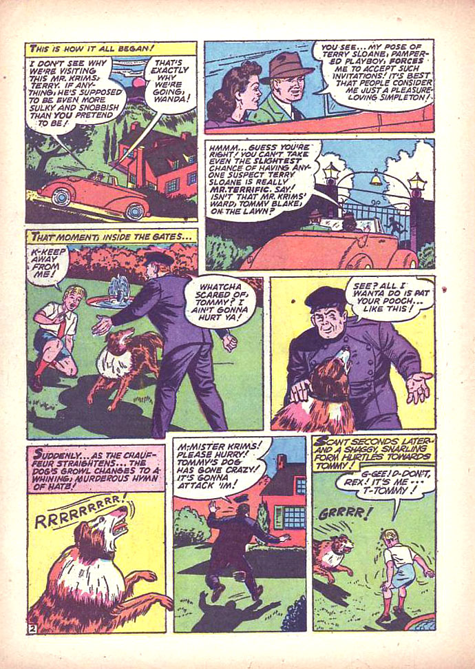 Read online Sensation (Mystery) Comics comic -  Issue #16 - 40