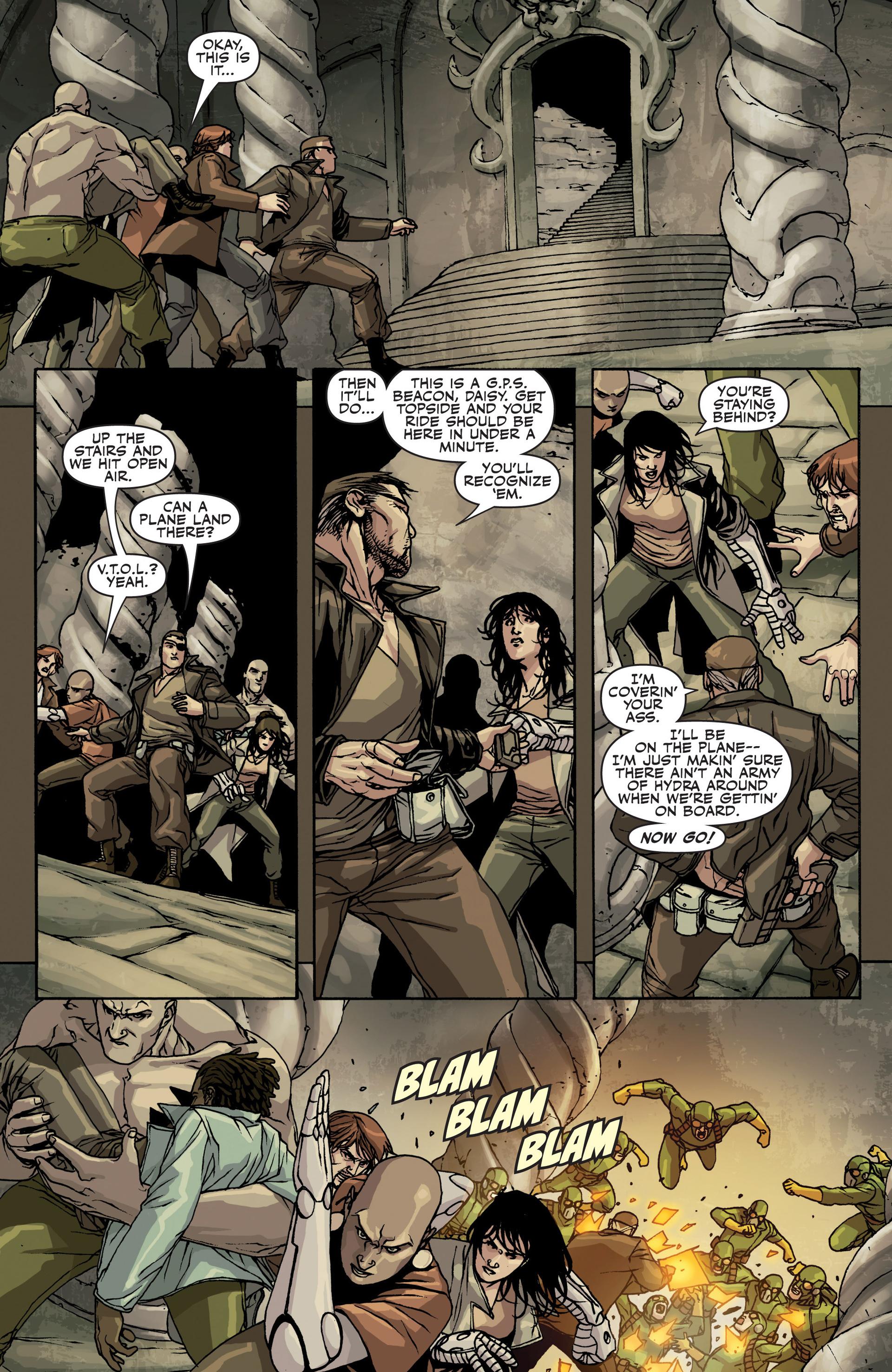 Read online Secret Warriors comic -  Issue #22 - 10
