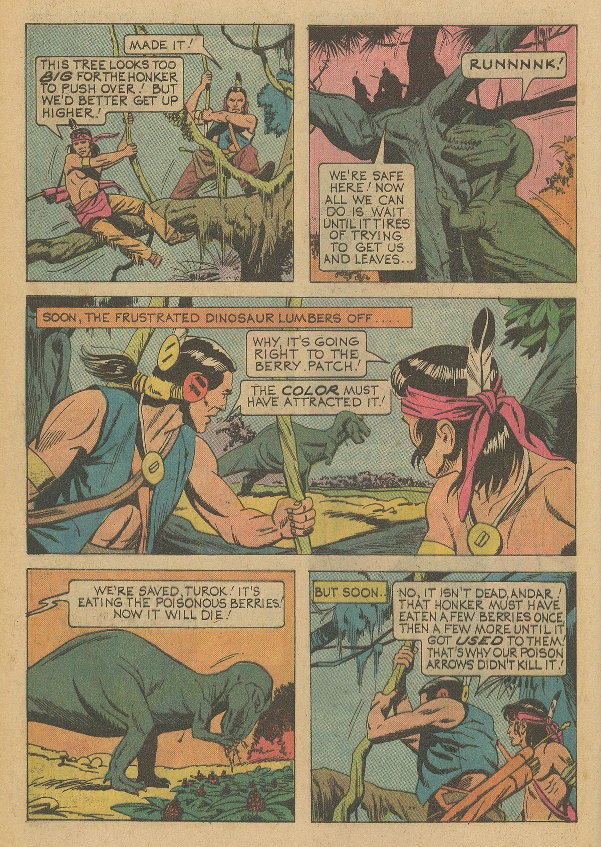 Read online Turok, Son of Stone comic -  Issue #95 - 28