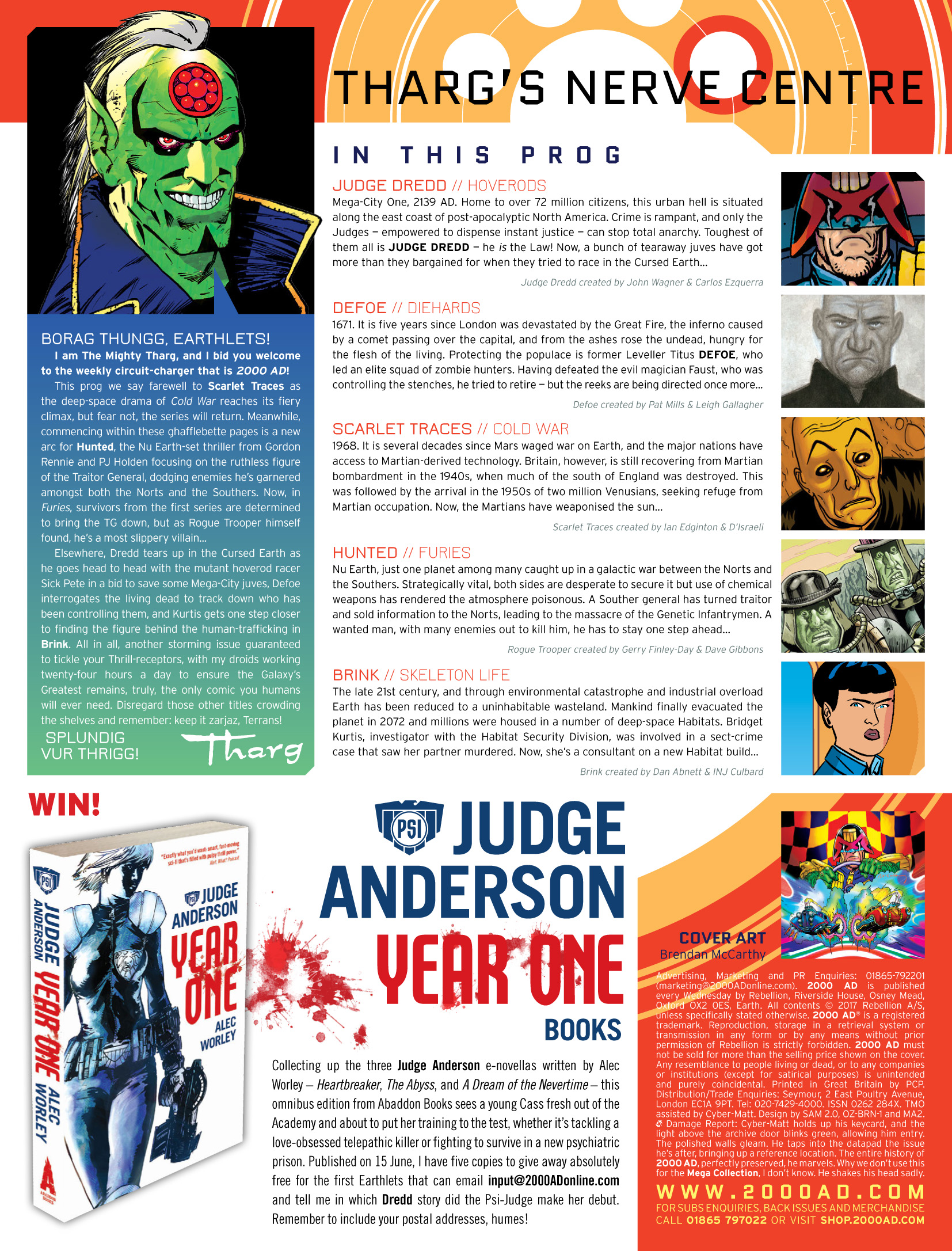 Read online 2000 AD comic -  Issue #2034 - 2