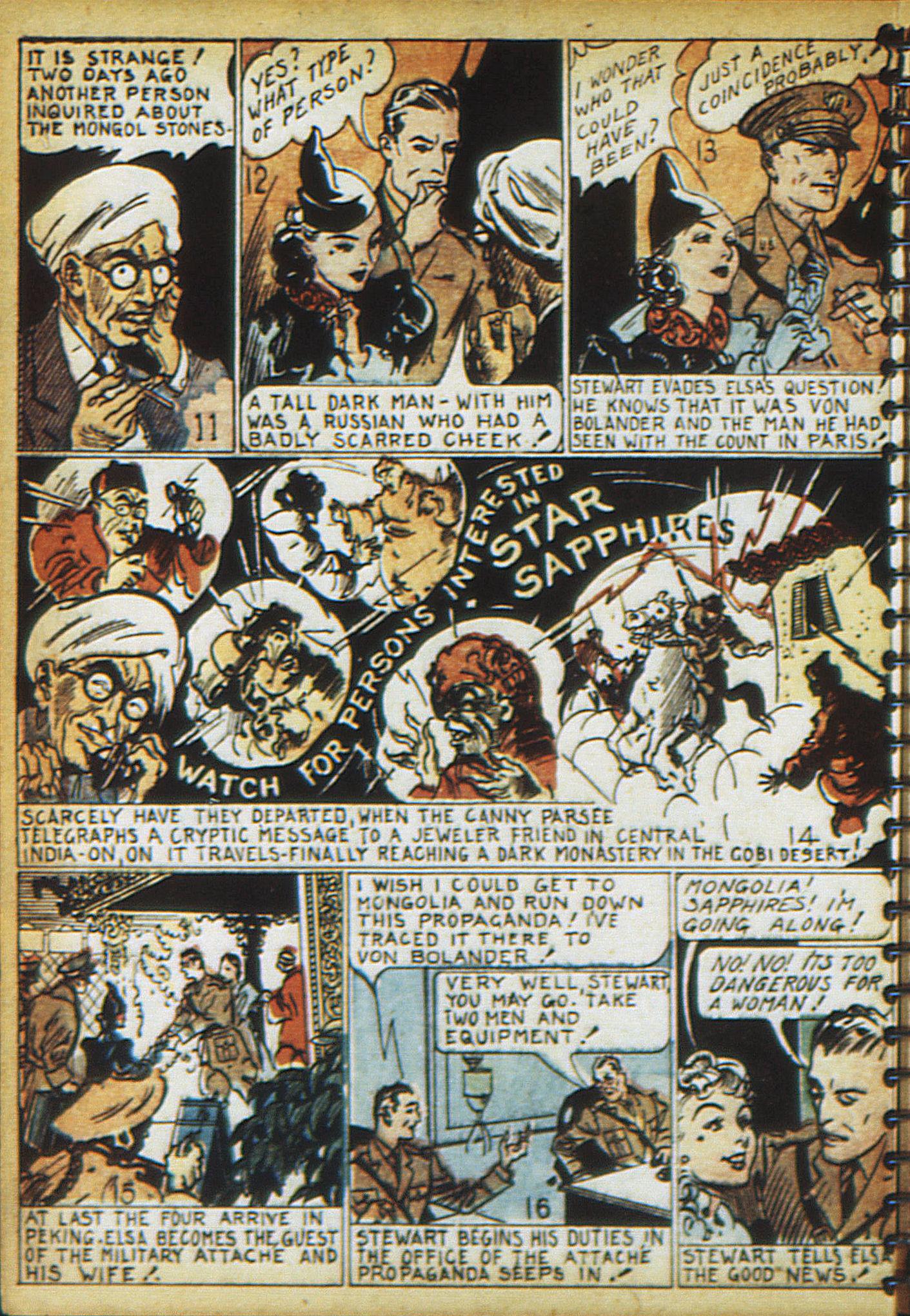 Read online Adventure Comics (1938) comic -  Issue #17 - 57