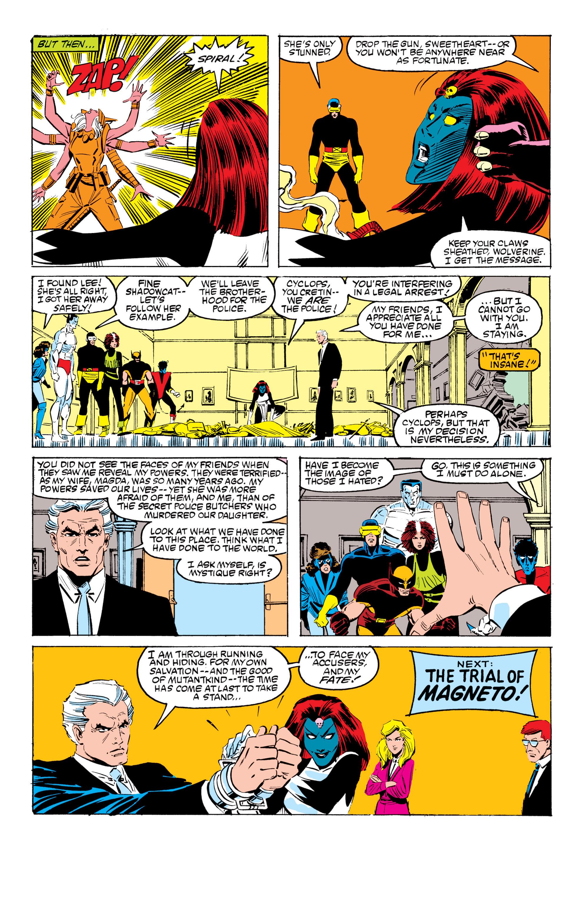 Read online Uncanny X-Men (1963) comic -  Issue #199 - 23