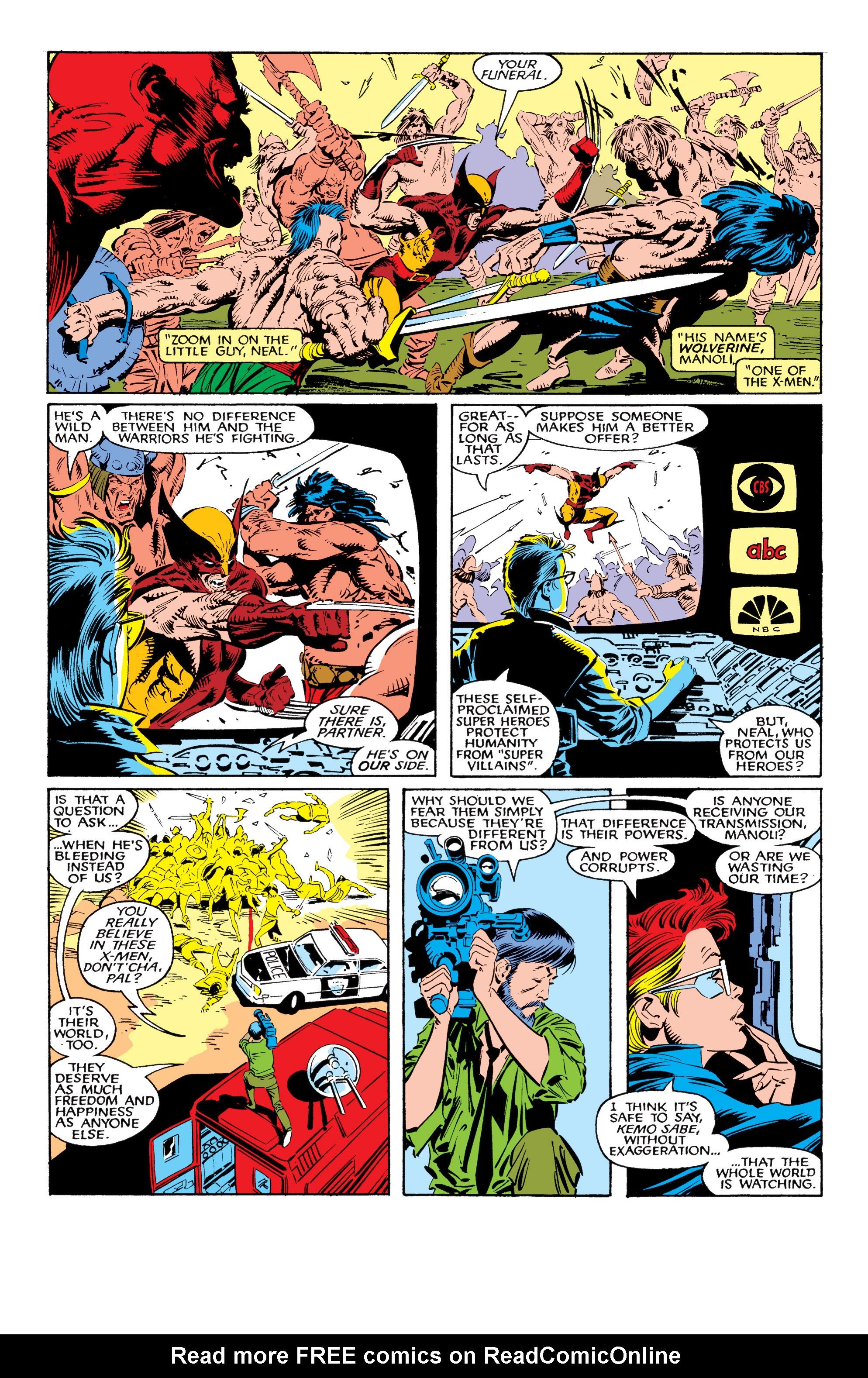 Read online Uncanny X-Men (1963) comic -  Issue #226 - 17