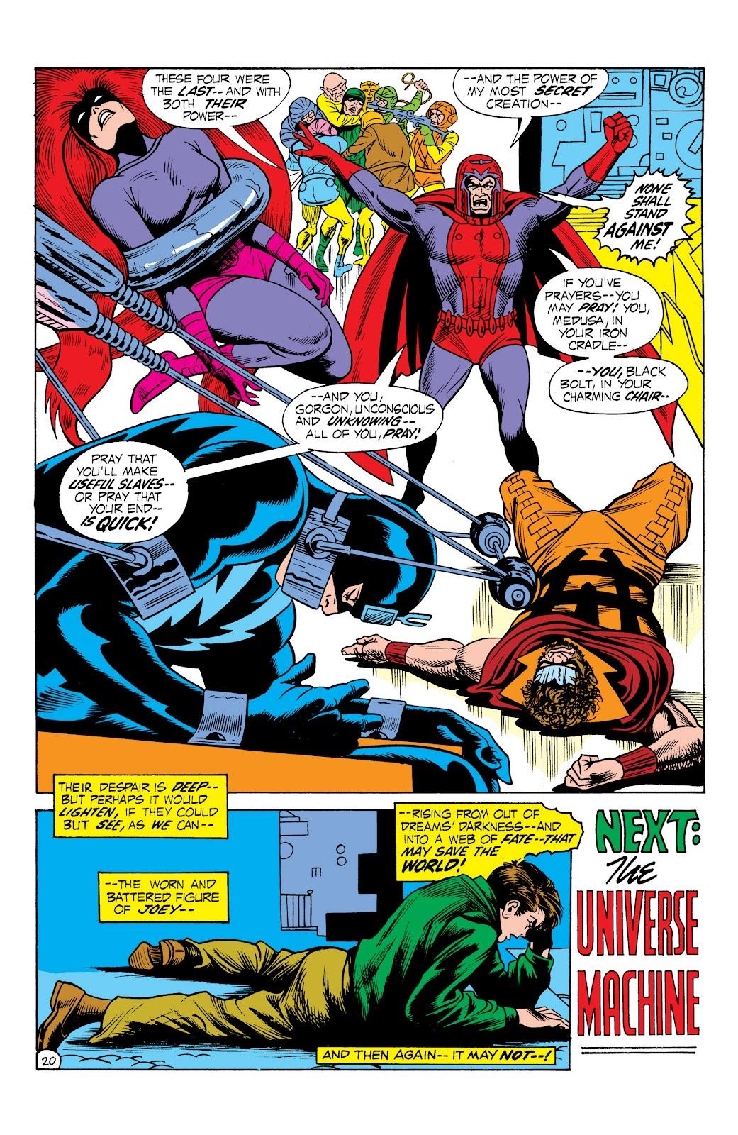 Read online Marvel Masterworks: The Inhumans comic -  Issue # TPB 1 (Part 2) - 77