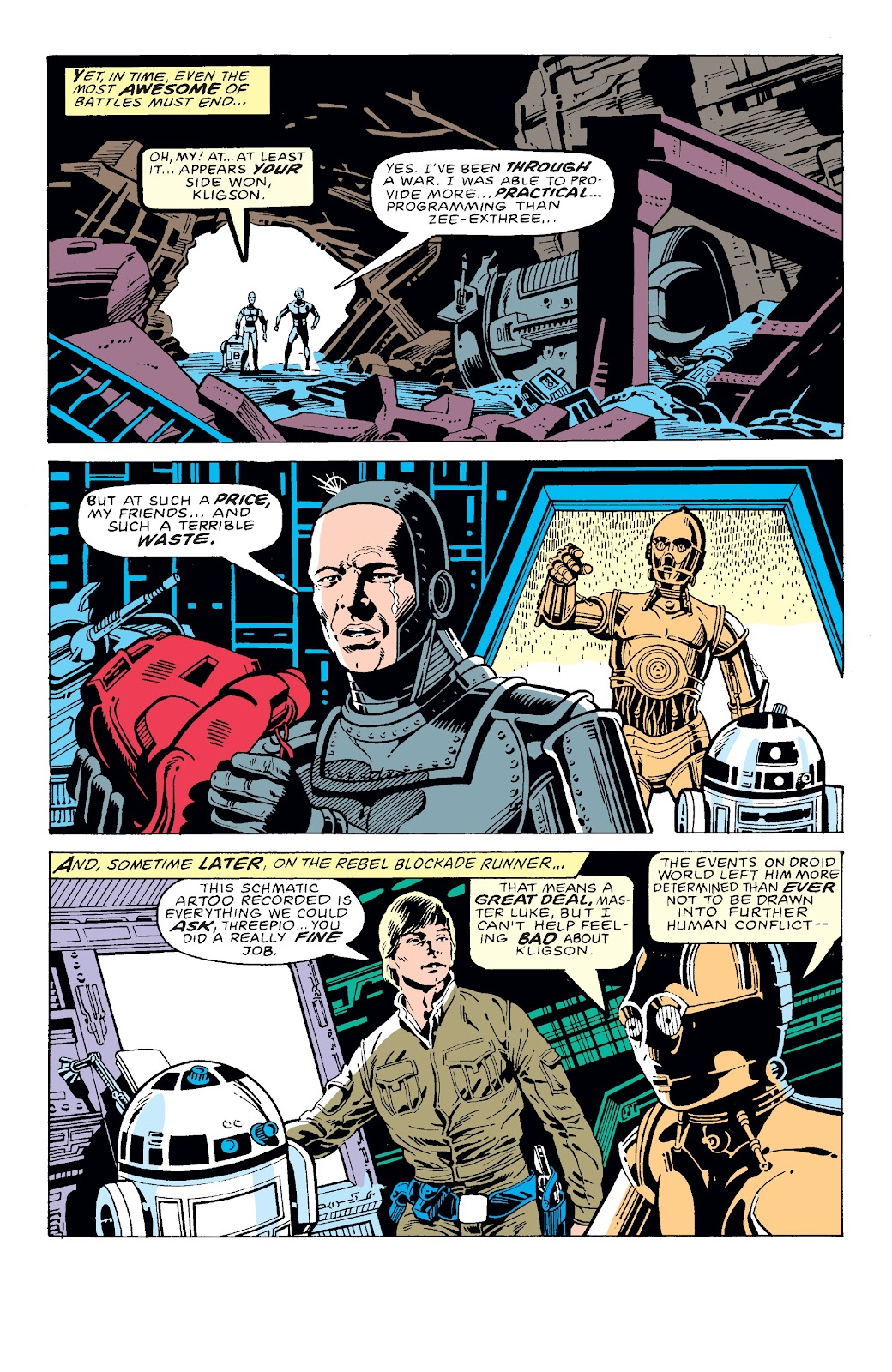 Read online Star Wars Legends: The Original Marvel Years - Epic Collection comic -  Issue # TPB 3 (Part 2) - 80