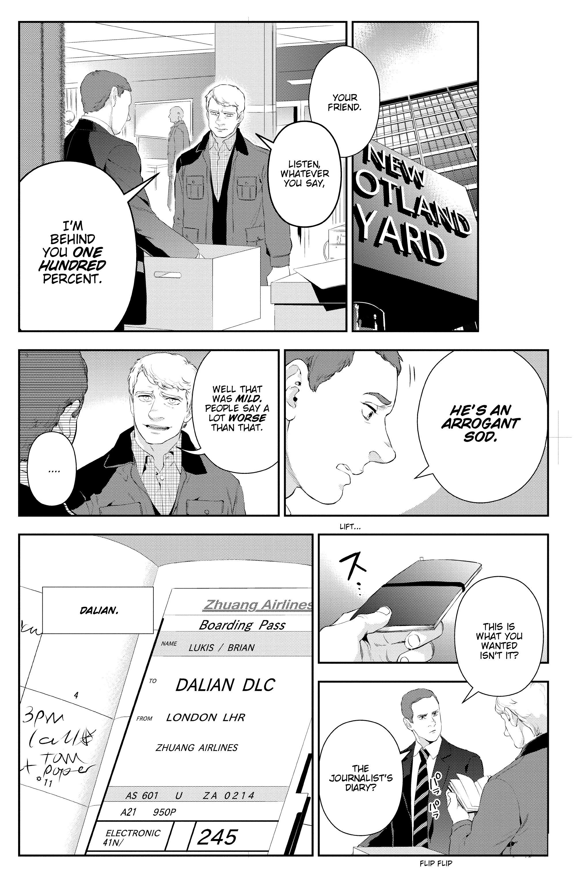 Read online Sherlock: The Blind Banker comic -  Issue #3 - 18