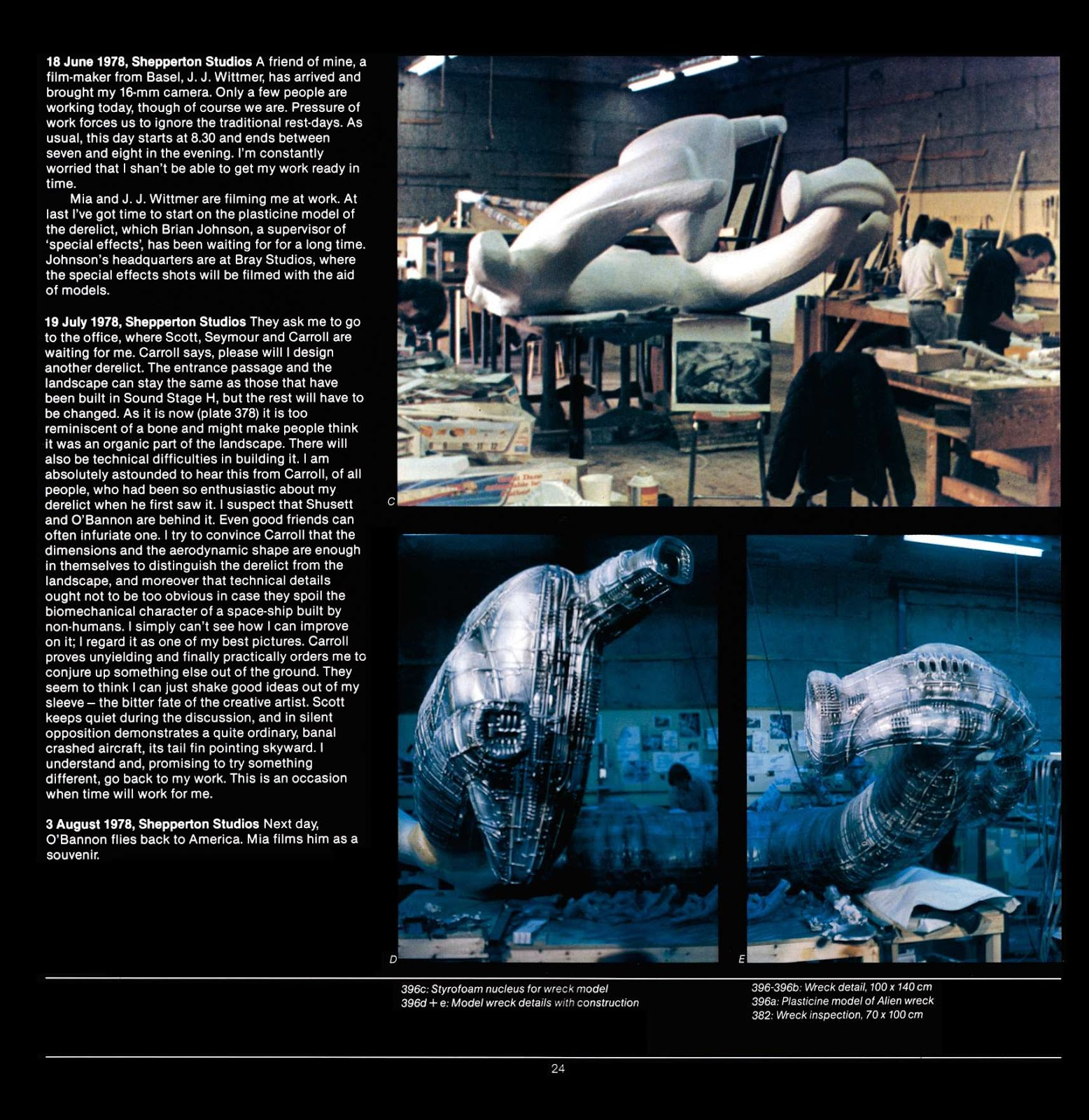 Read online Giger's Alien comic -  Issue # TPB - 26