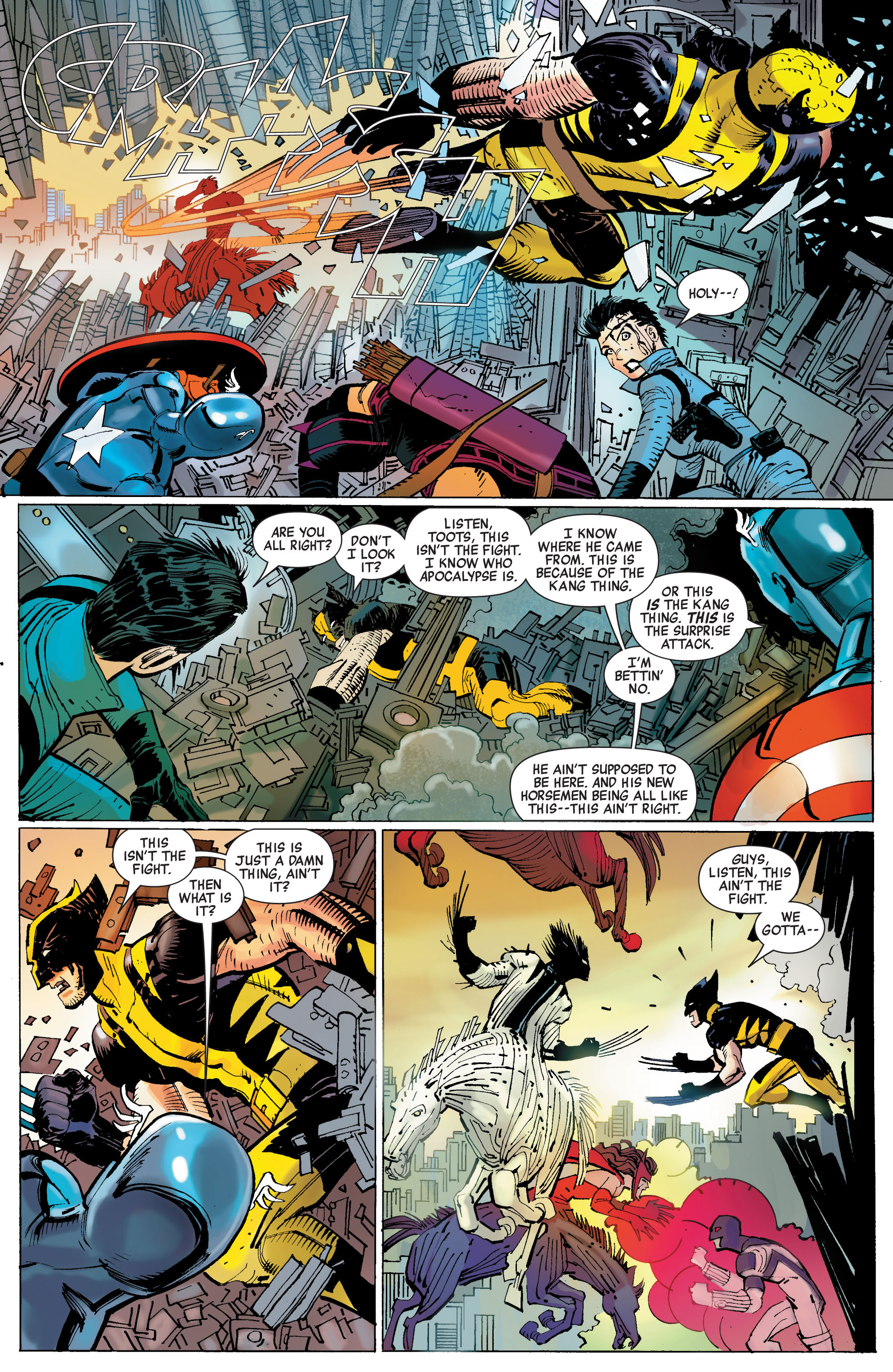 Read online Avengers (2010) comic -  Issue #3 - 11