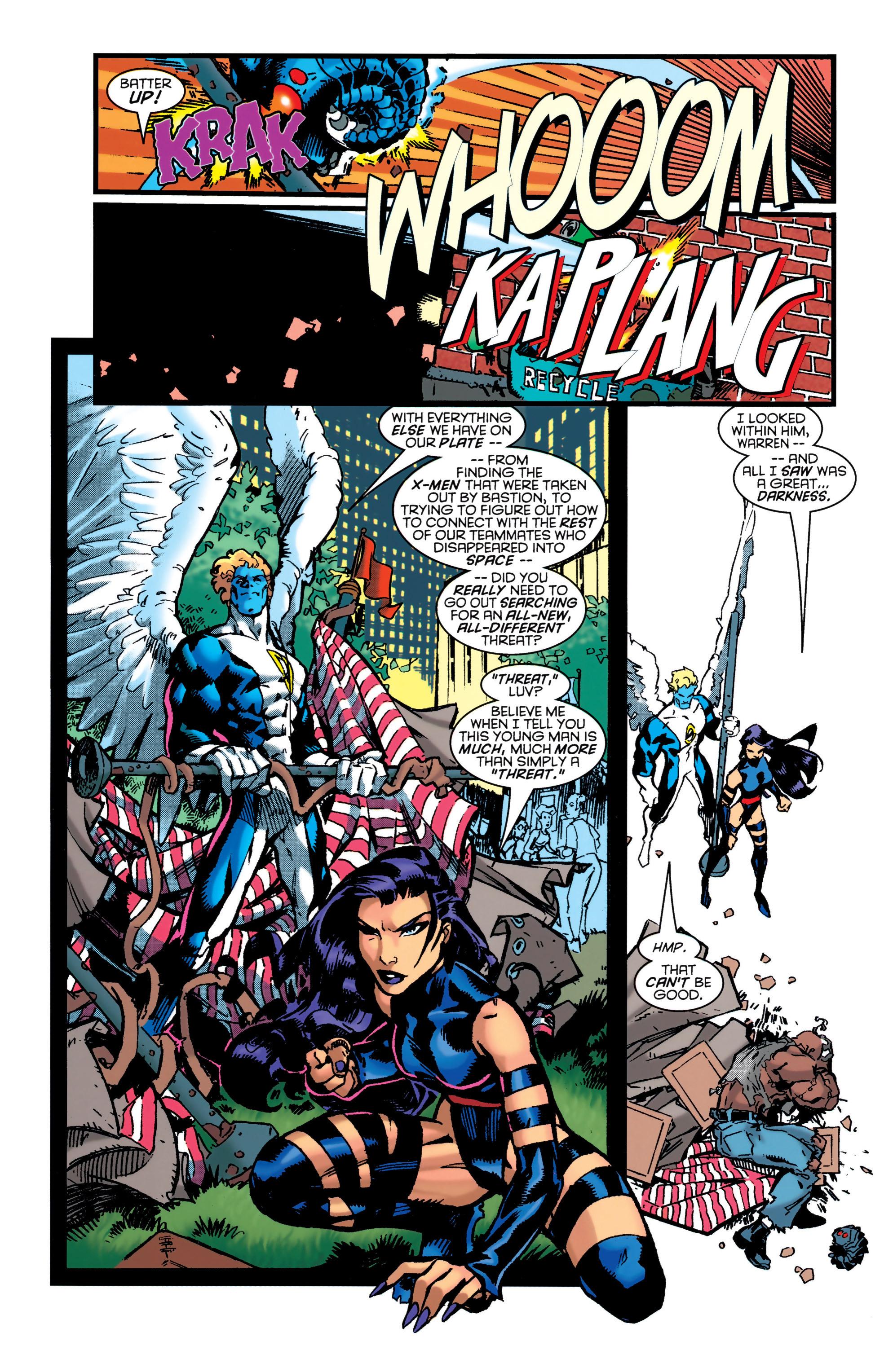 Read online Uncanny X-Men (1963) comic -  Issue #349 - 17
