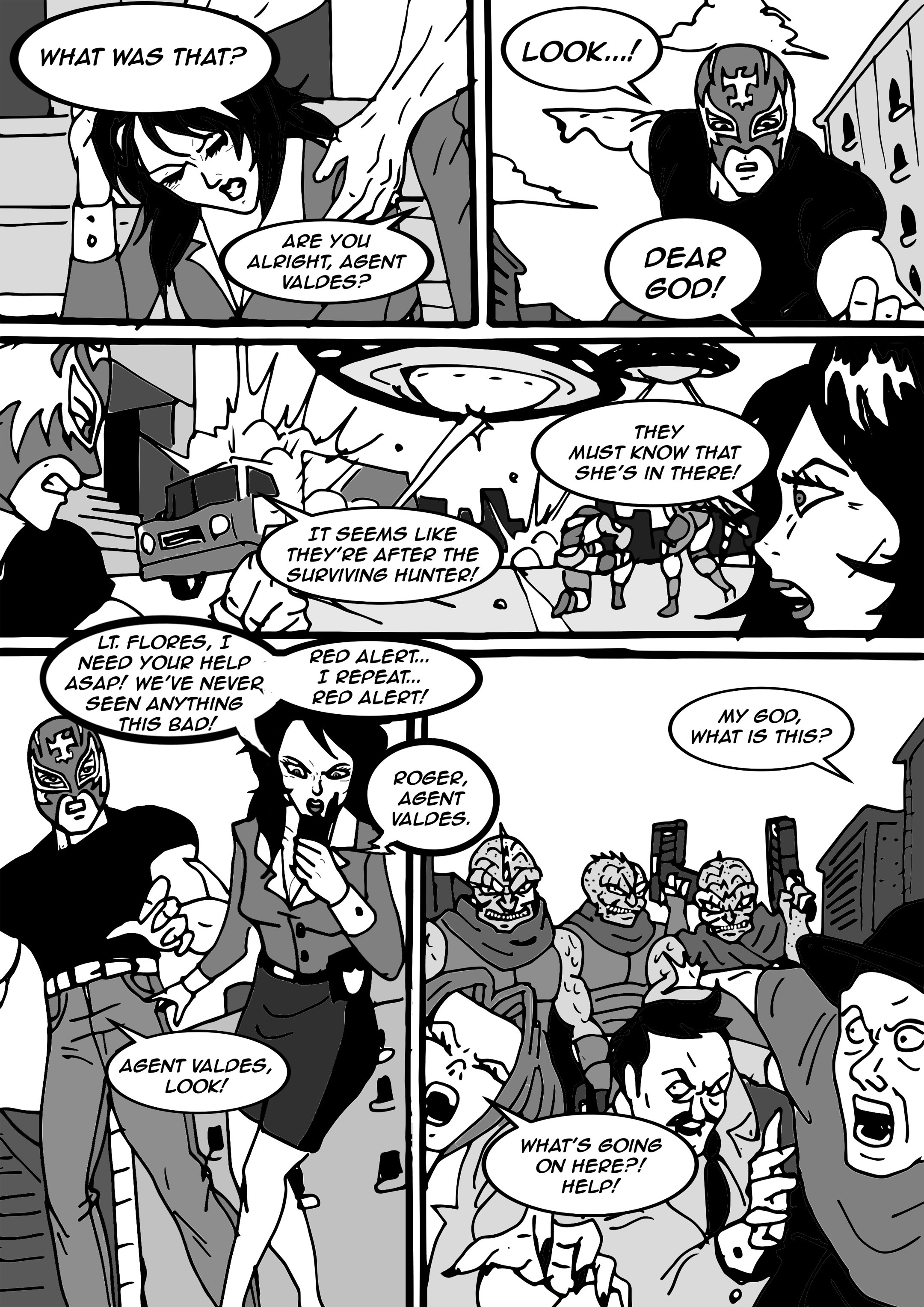 Read online Aski vs. The Draconians comic -  Issue #1 - 15