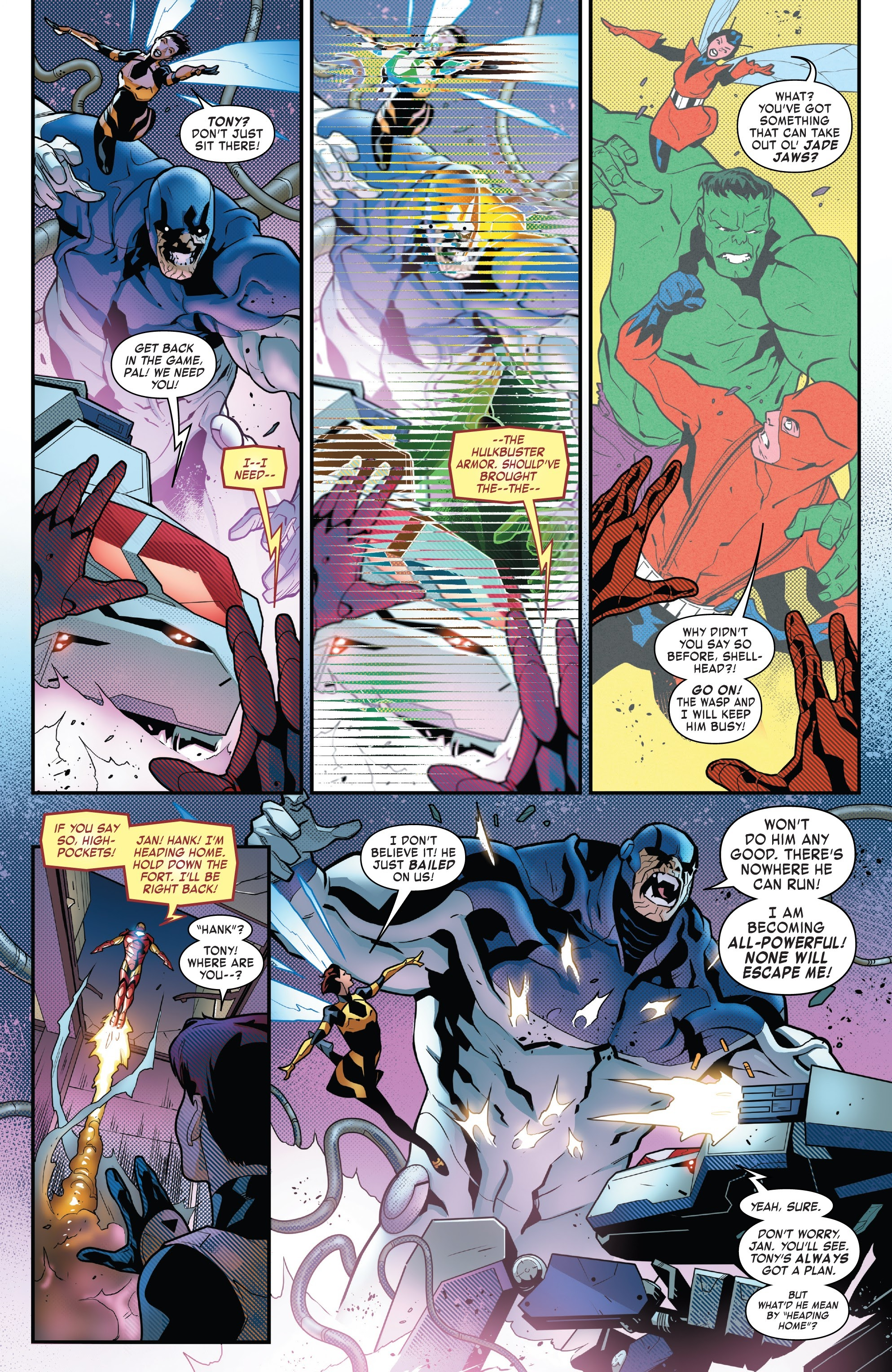 Read online Tony Stark: Iron Man comic -  Issue #8 - 17