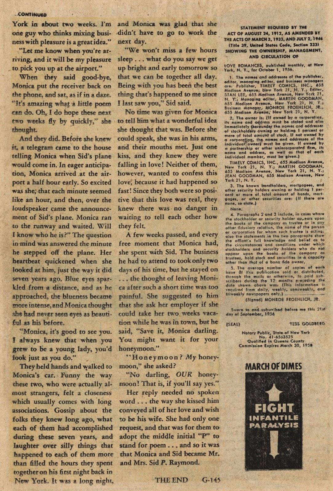 Love Romances (1949) issue 66 - Page 26