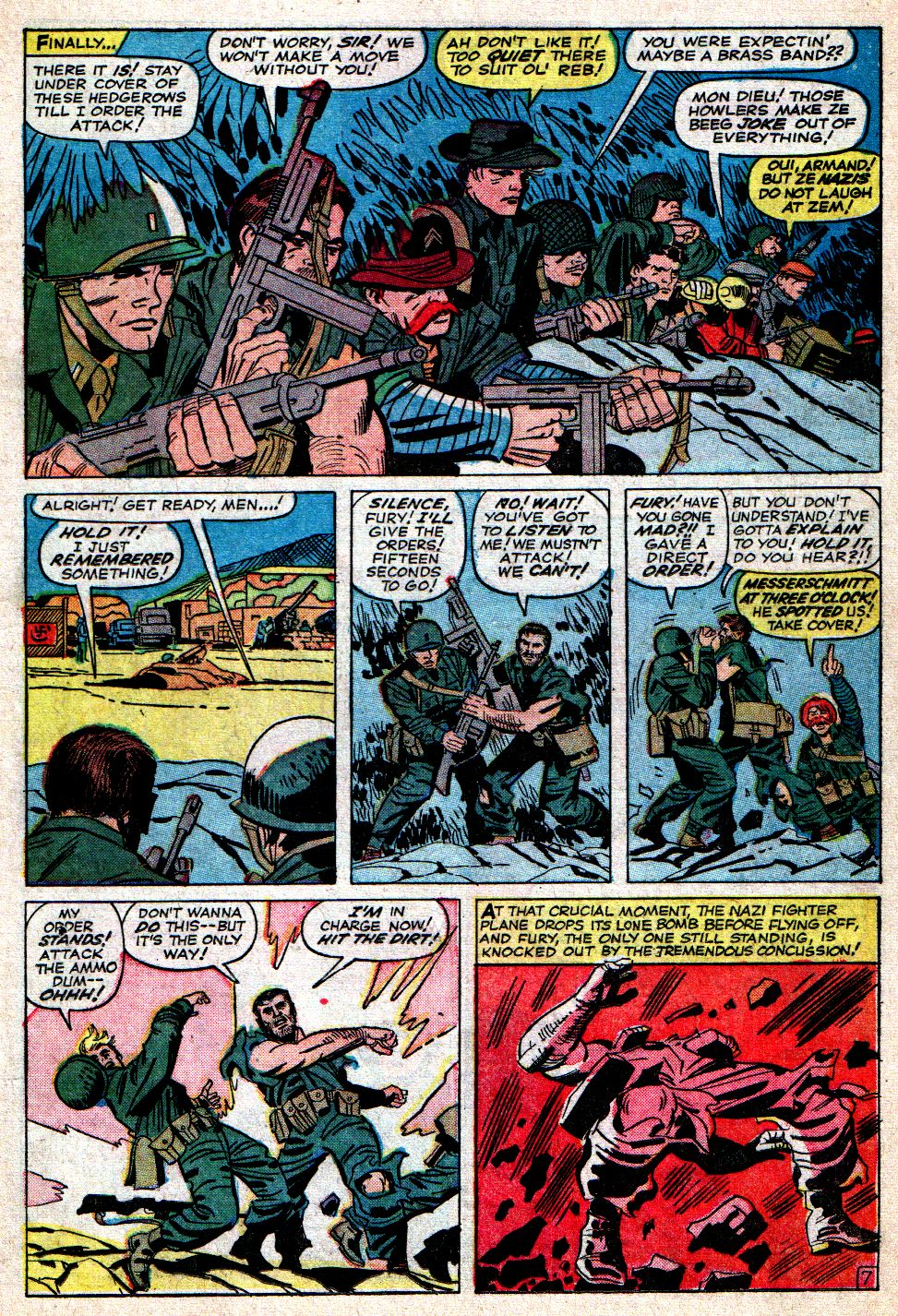 Read online Sgt. Fury comic -  Issue #7 - 11