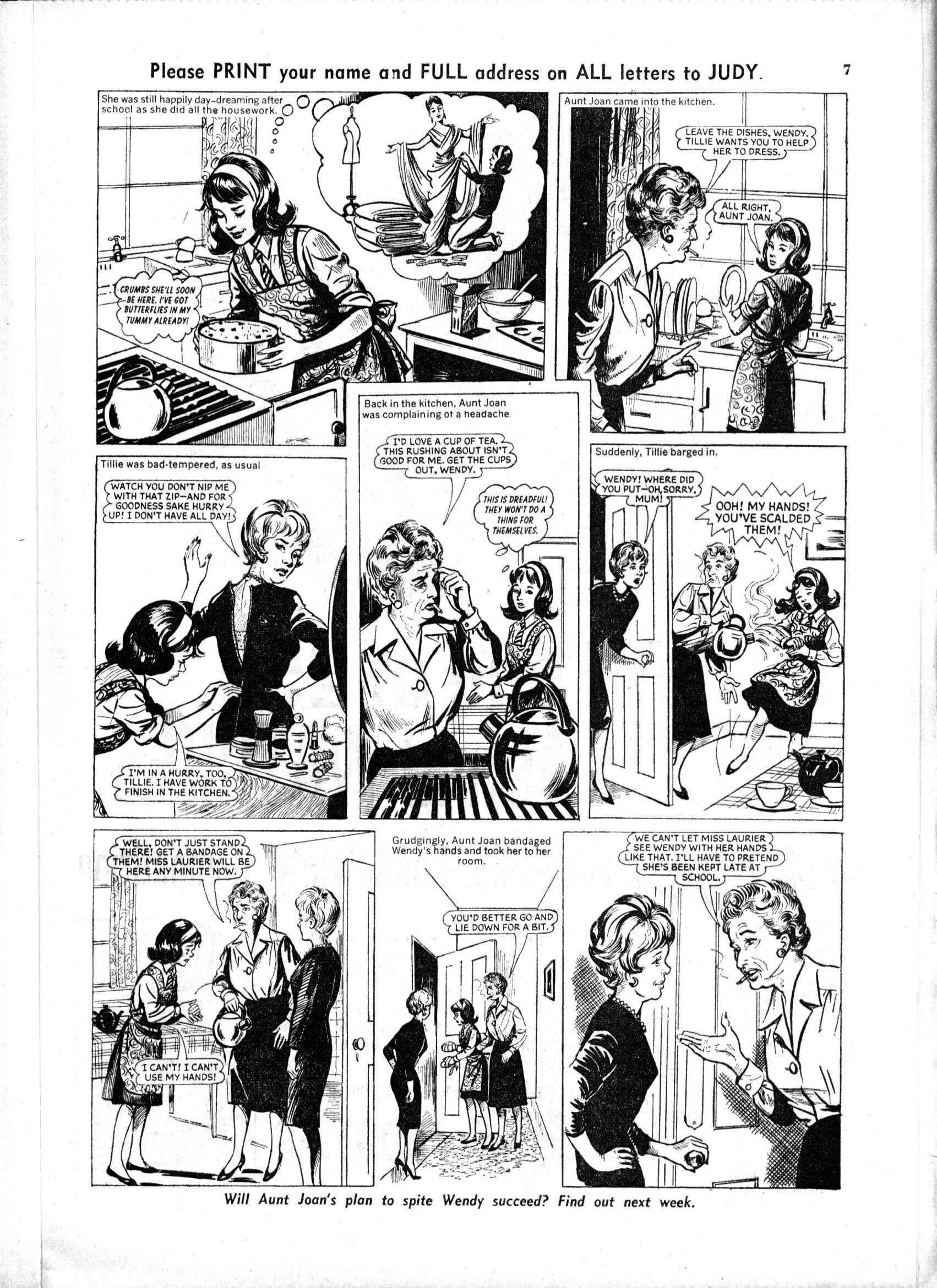 Read online Judy comic -  Issue #163 - 7