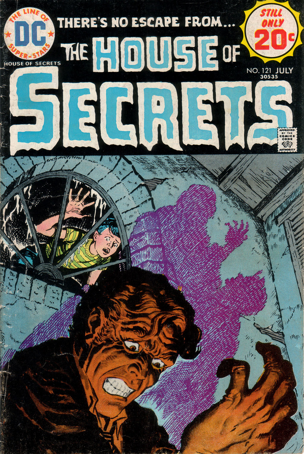 House of Secrets (1956) issue 121 - Page 1