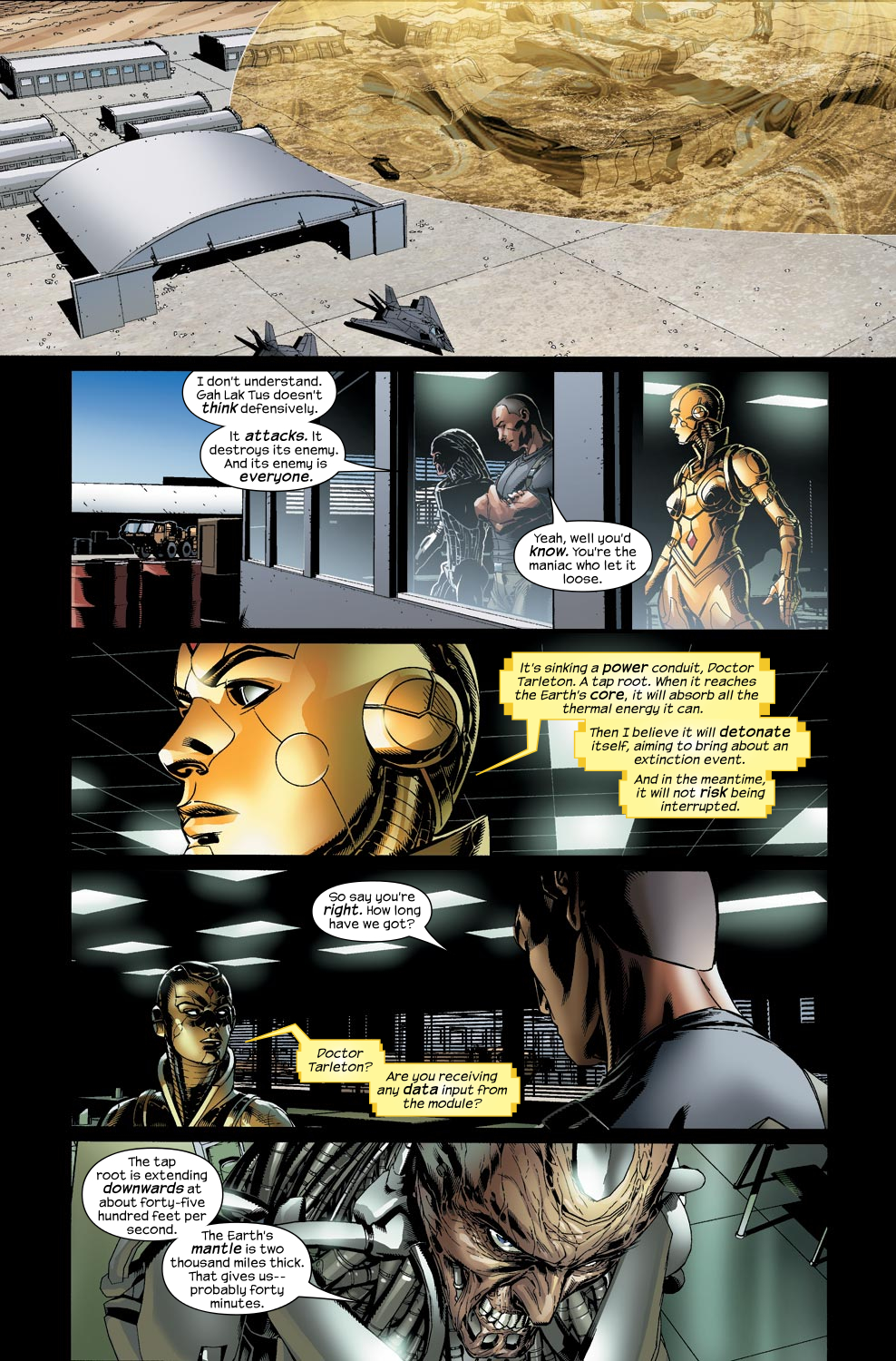 Read online Ultimate Vision comic -  Issue #5 - 8