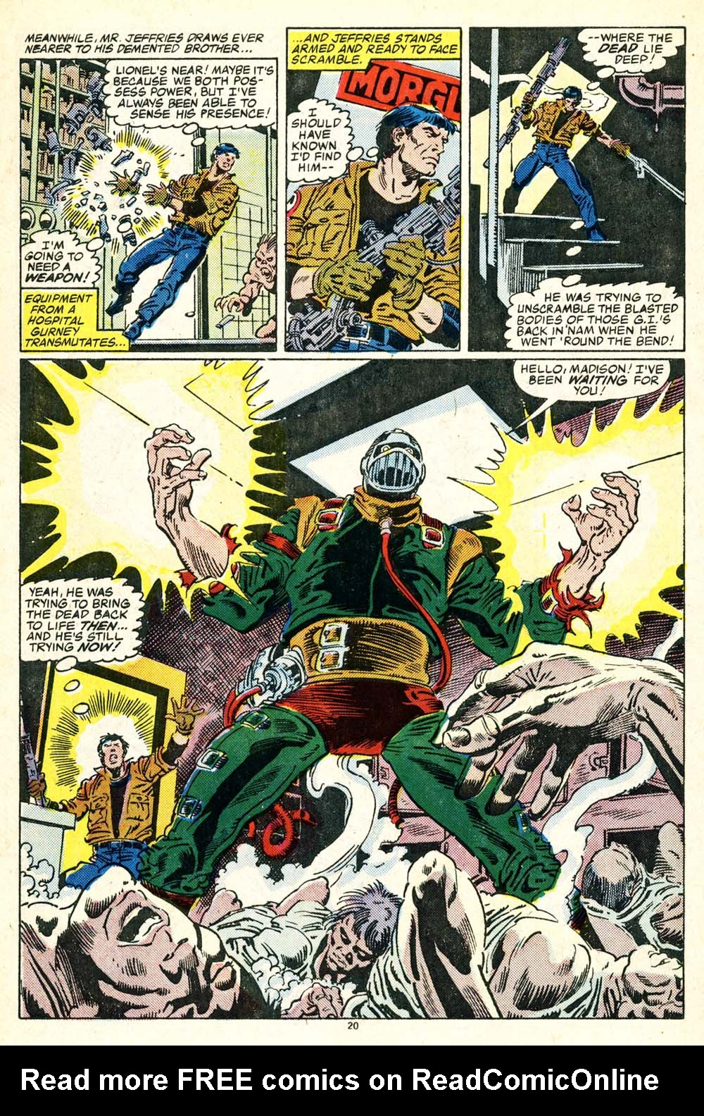 Read online Alpha Flight (1983) comic -  Issue #30 - 22