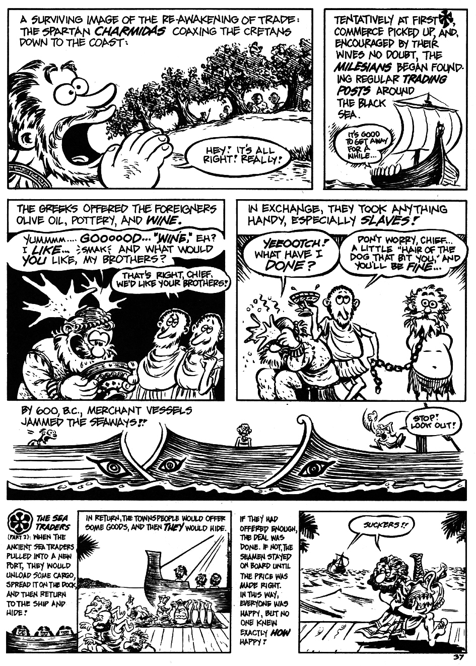 Read online The Cartoon History of the Universe comic -  Issue #5 - 39