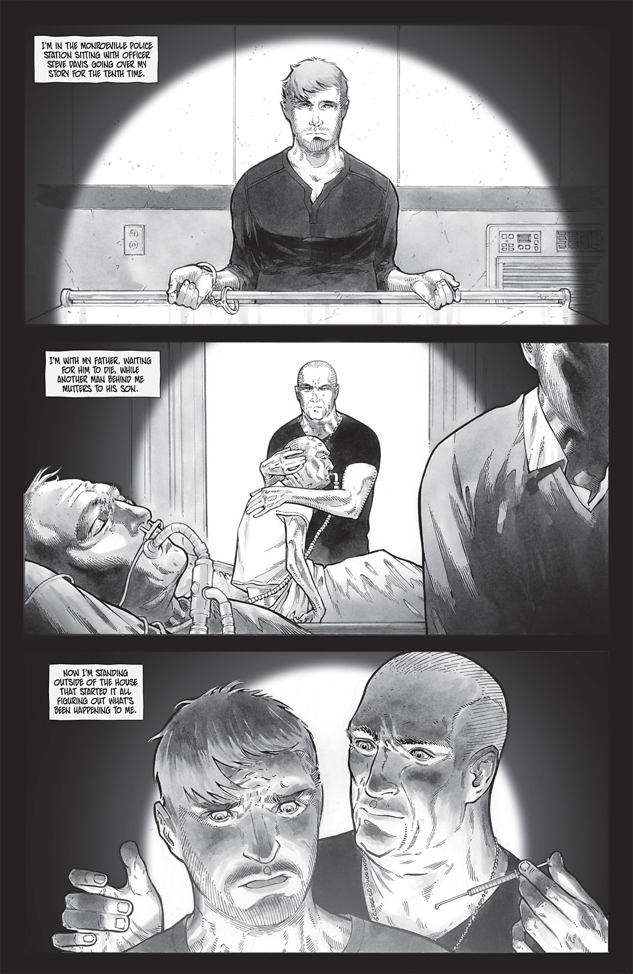 Read online Echoes comic -  Issue # TPB - 113