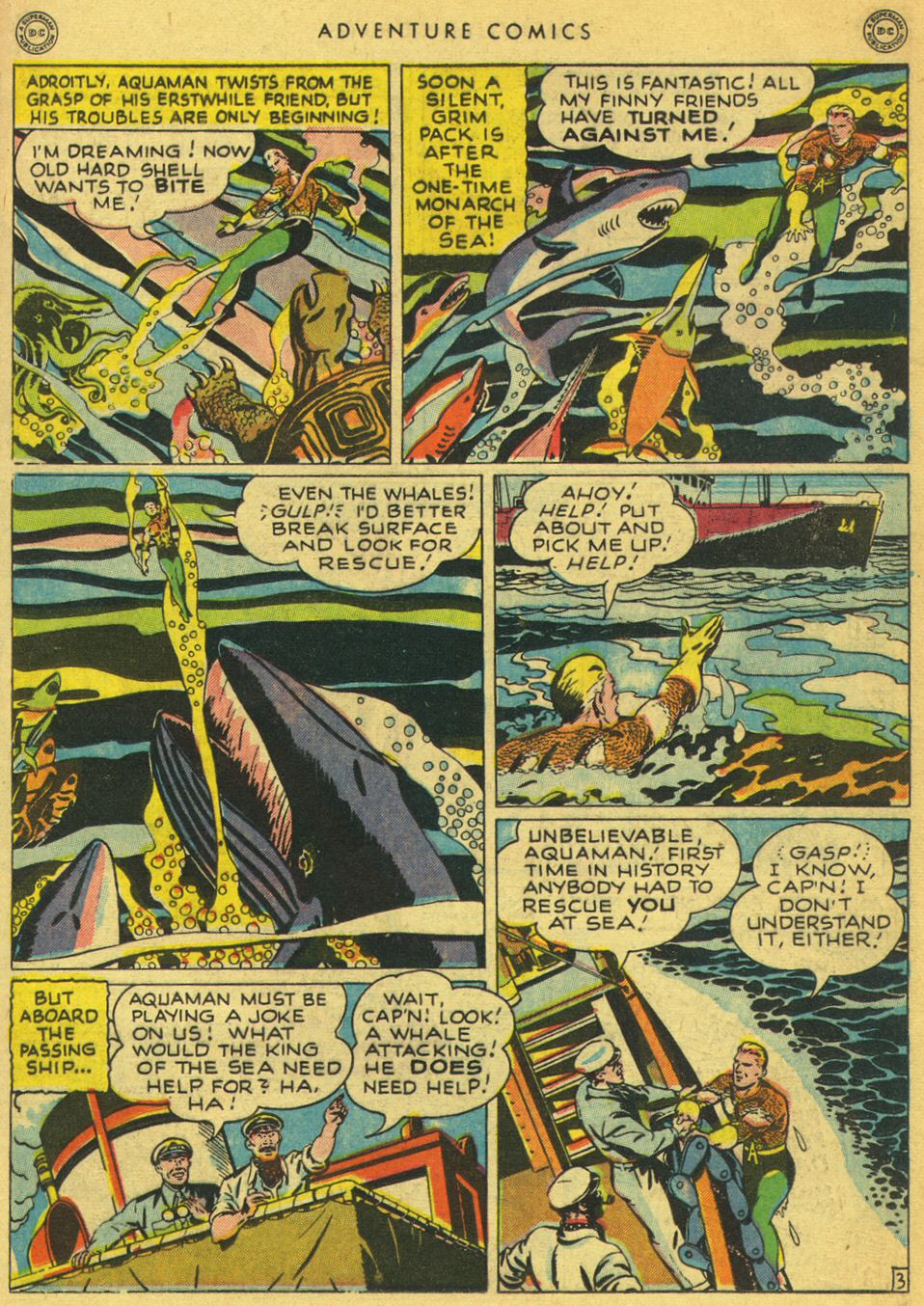 Read online Adventure Comics (1938) comic -  Issue #134 - 31