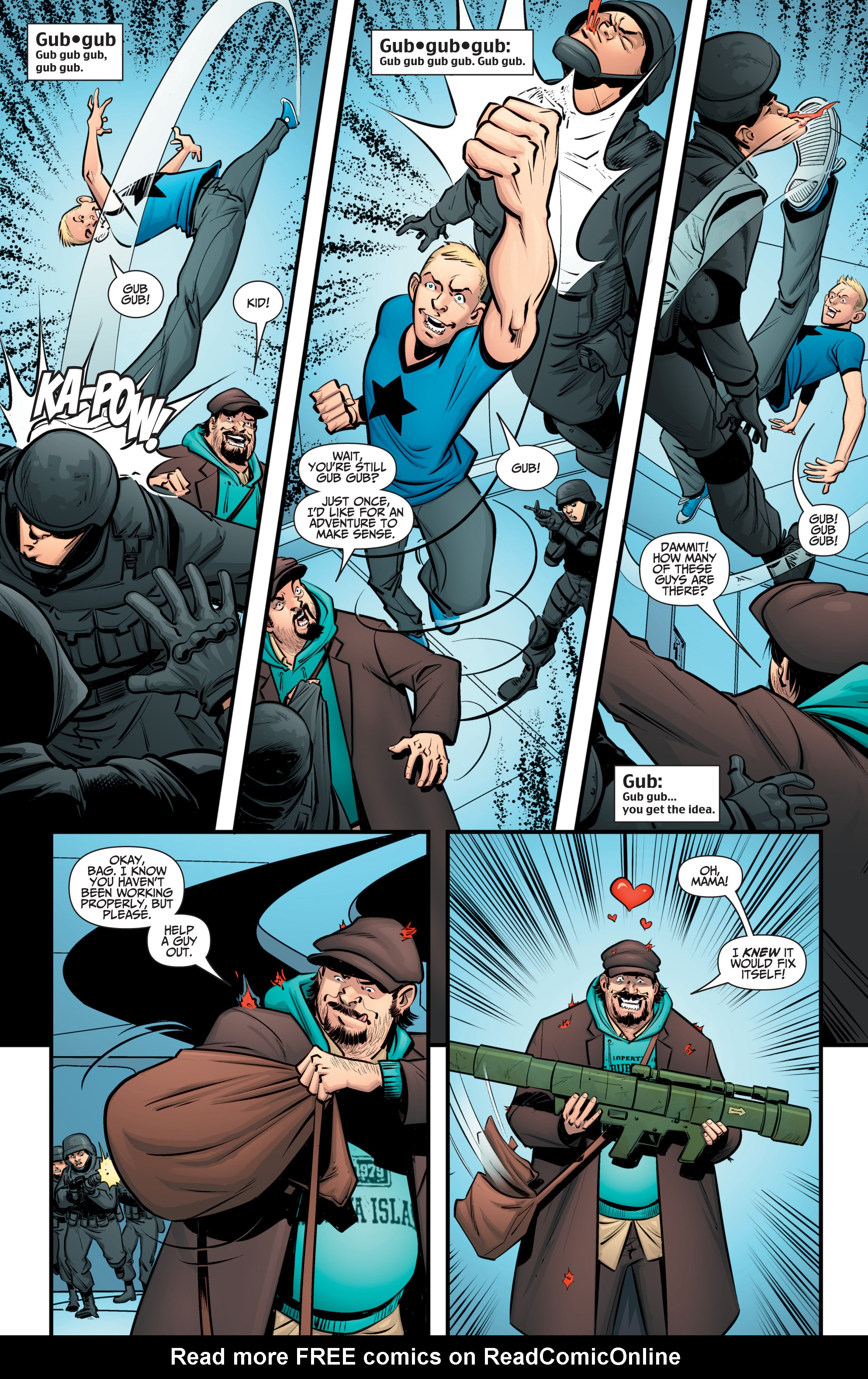 Read online A&A: The Adventures of Archer & Armstrong comic -  Issue #12 - 7