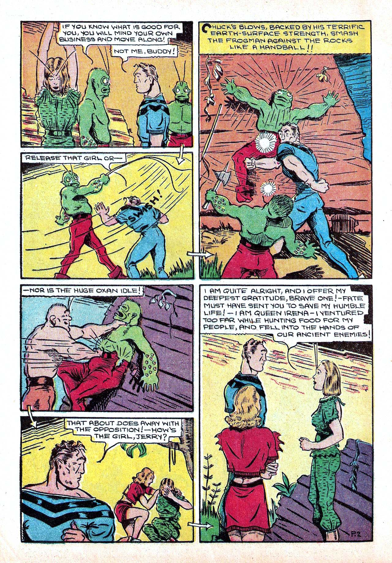 Read online Amazing Man Comics comic -  Issue #11 - 14