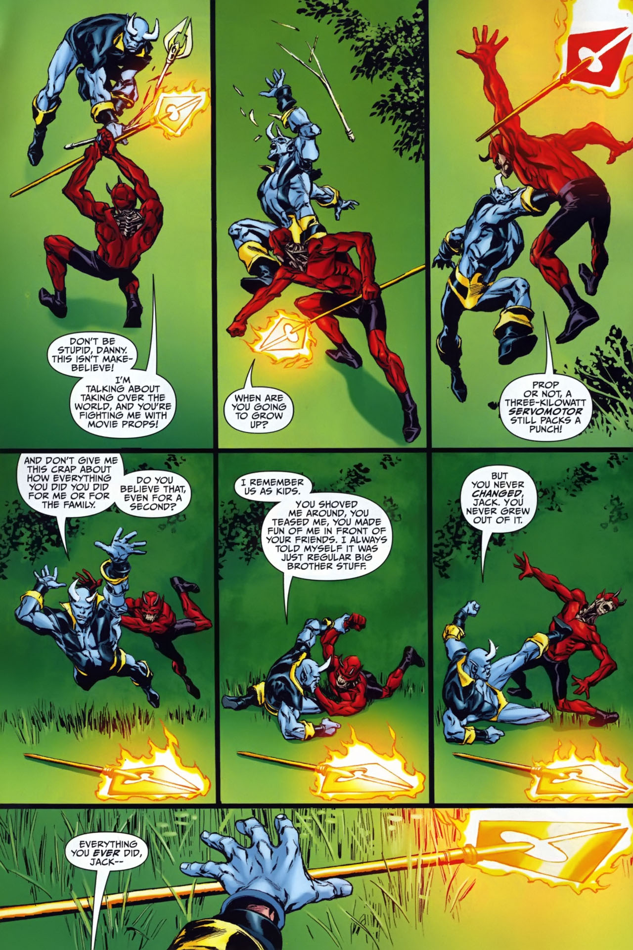 Read online Shadowpact comic -  Issue #25 - 5