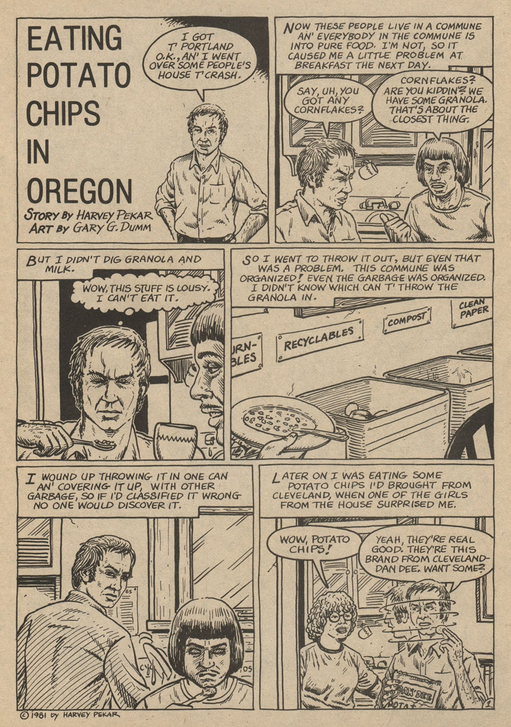 American Splendor (1976) issue 6 - Page 46