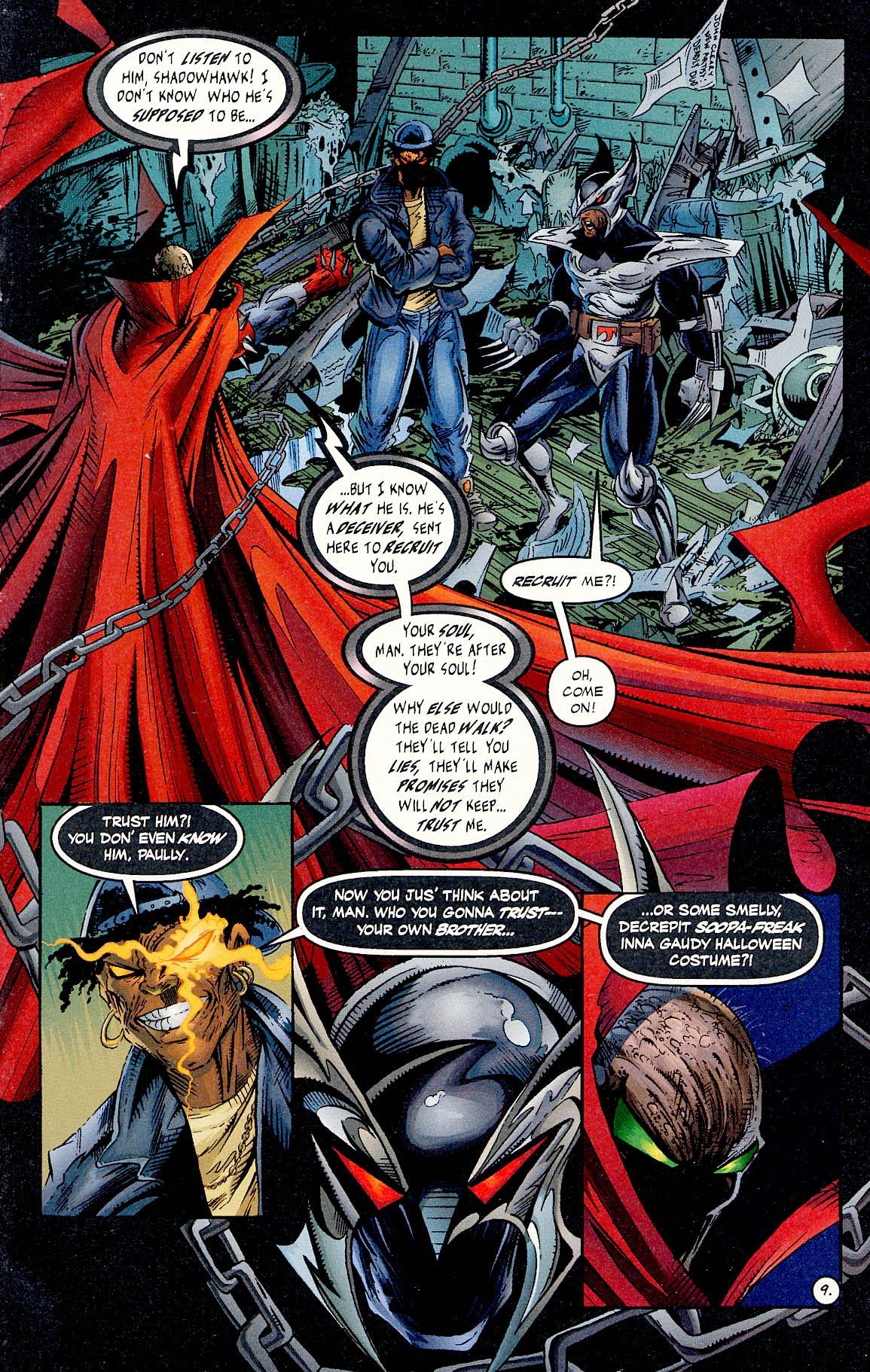 Read online ShadowHawk comic -  Issue #17 - 9
