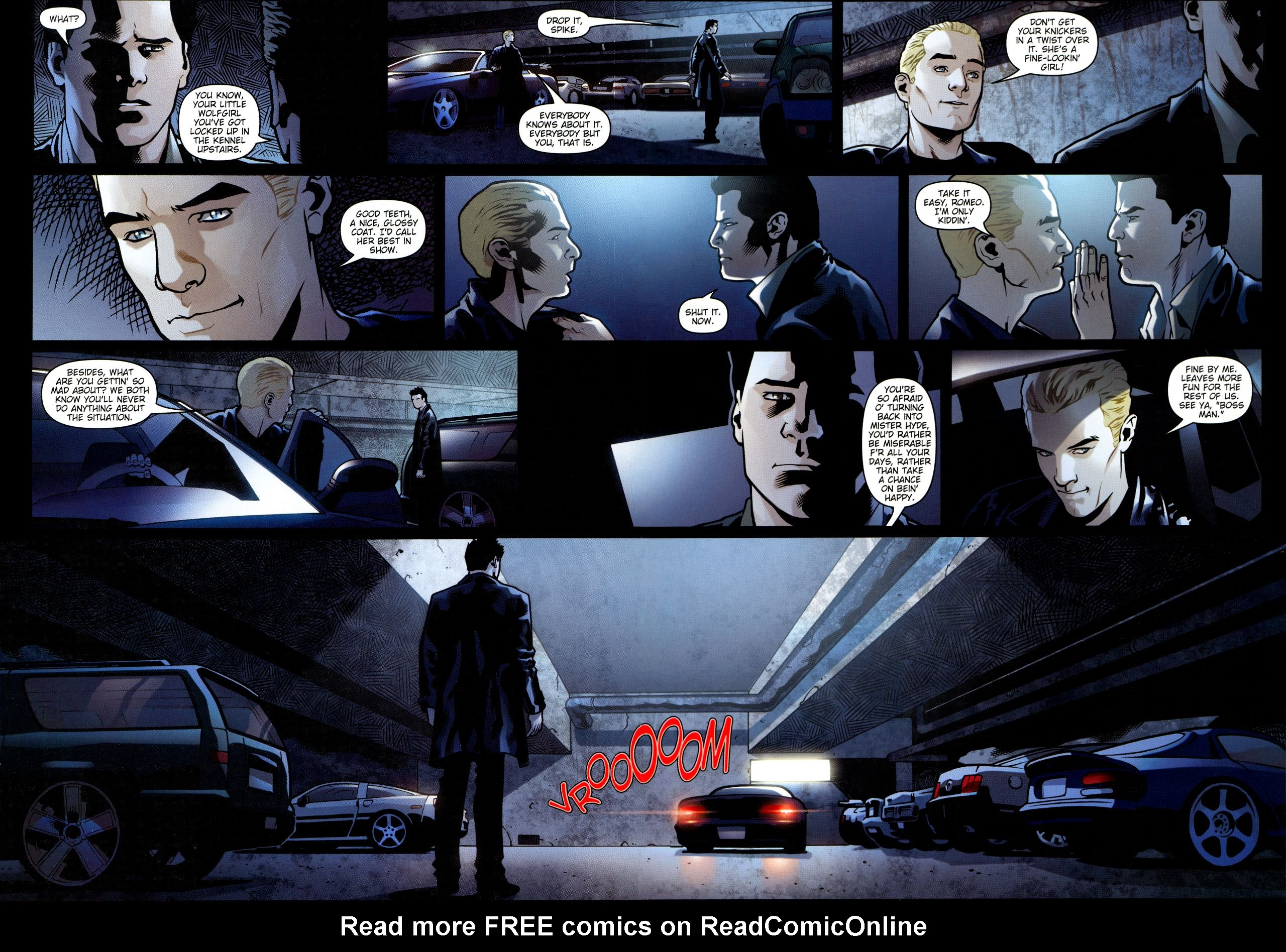Read online Angel: Smile Time comic -  Issue #1 - 17