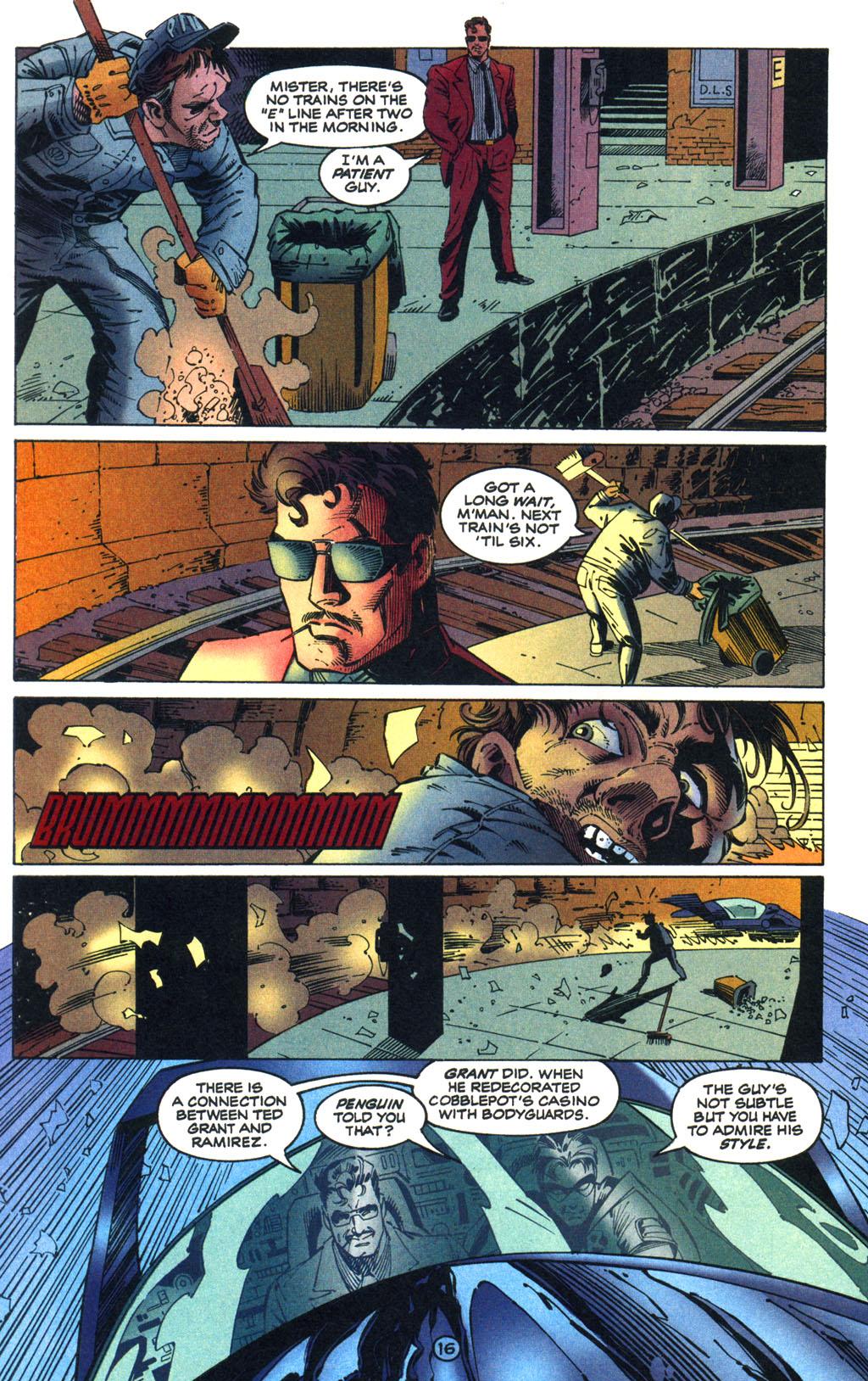 Read online Batman/Wildcat comic -  Issue #1 - 16