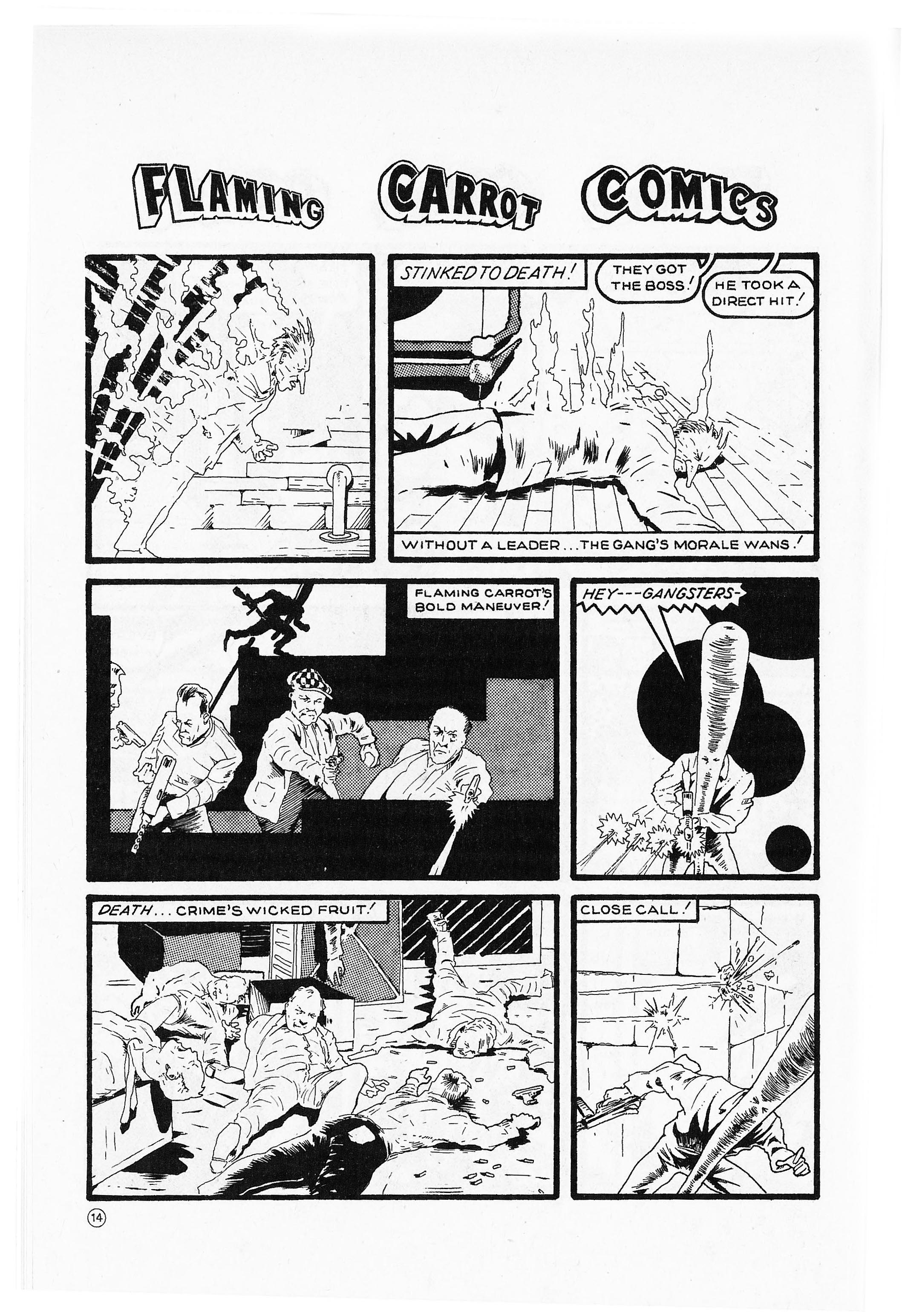 Read online Flaming Carrot Comics (1984) comic -  Issue #2 - 16